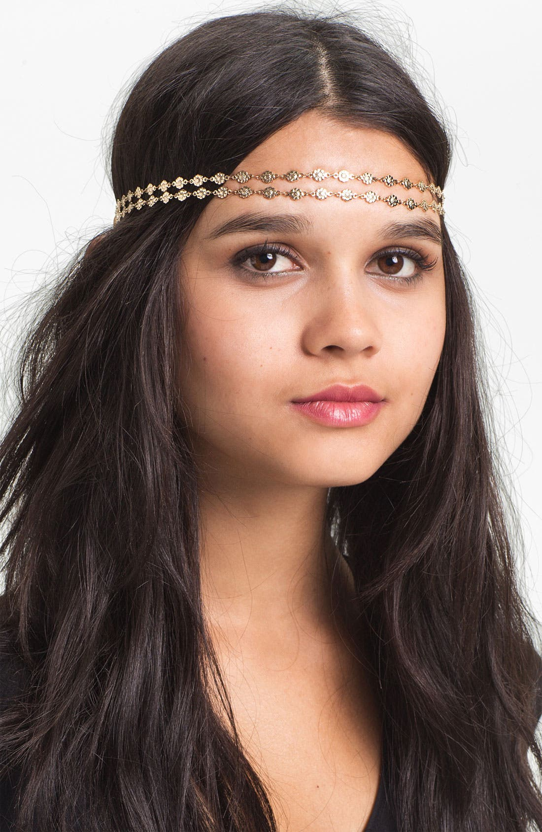 Main Image - Tasha 'Two Flower Chains' Head Wrap