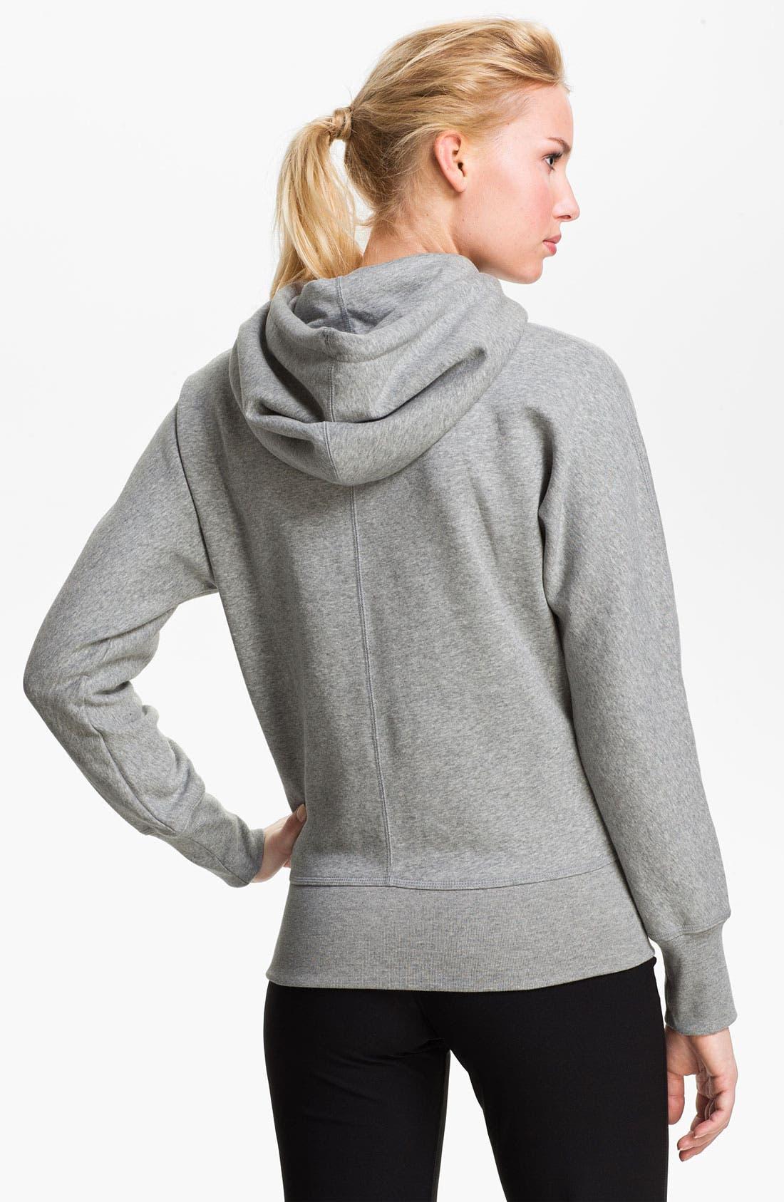 Alternate Image 2  - Nike Graphic Full Zip Hoodie