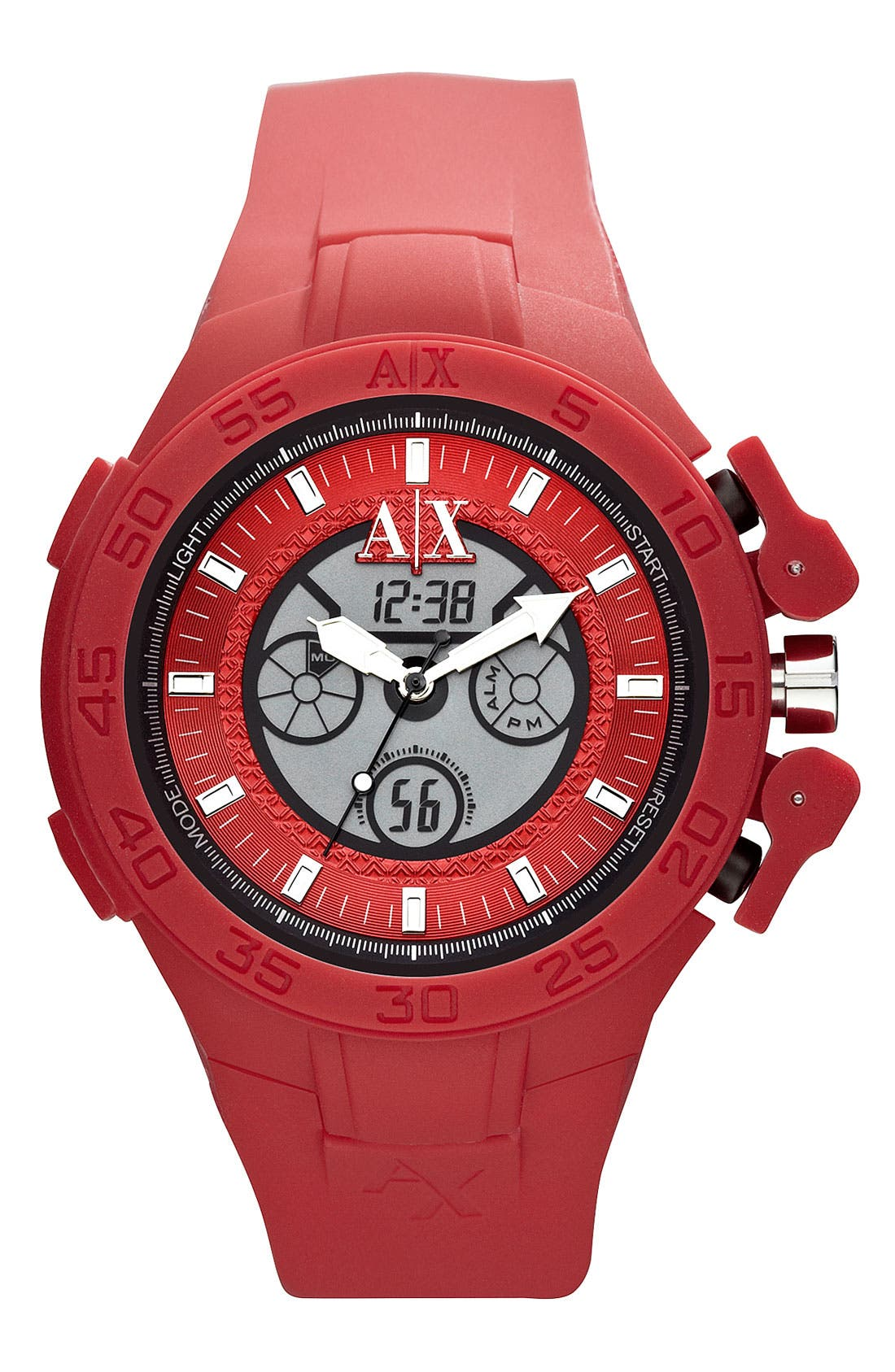 Main Image - AX Armani Exchange Dual Movement Watch, 47mm