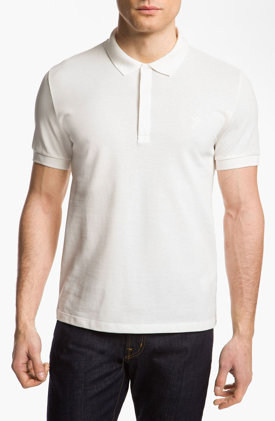 Main Image - Versace Cotton Polo Shirt
