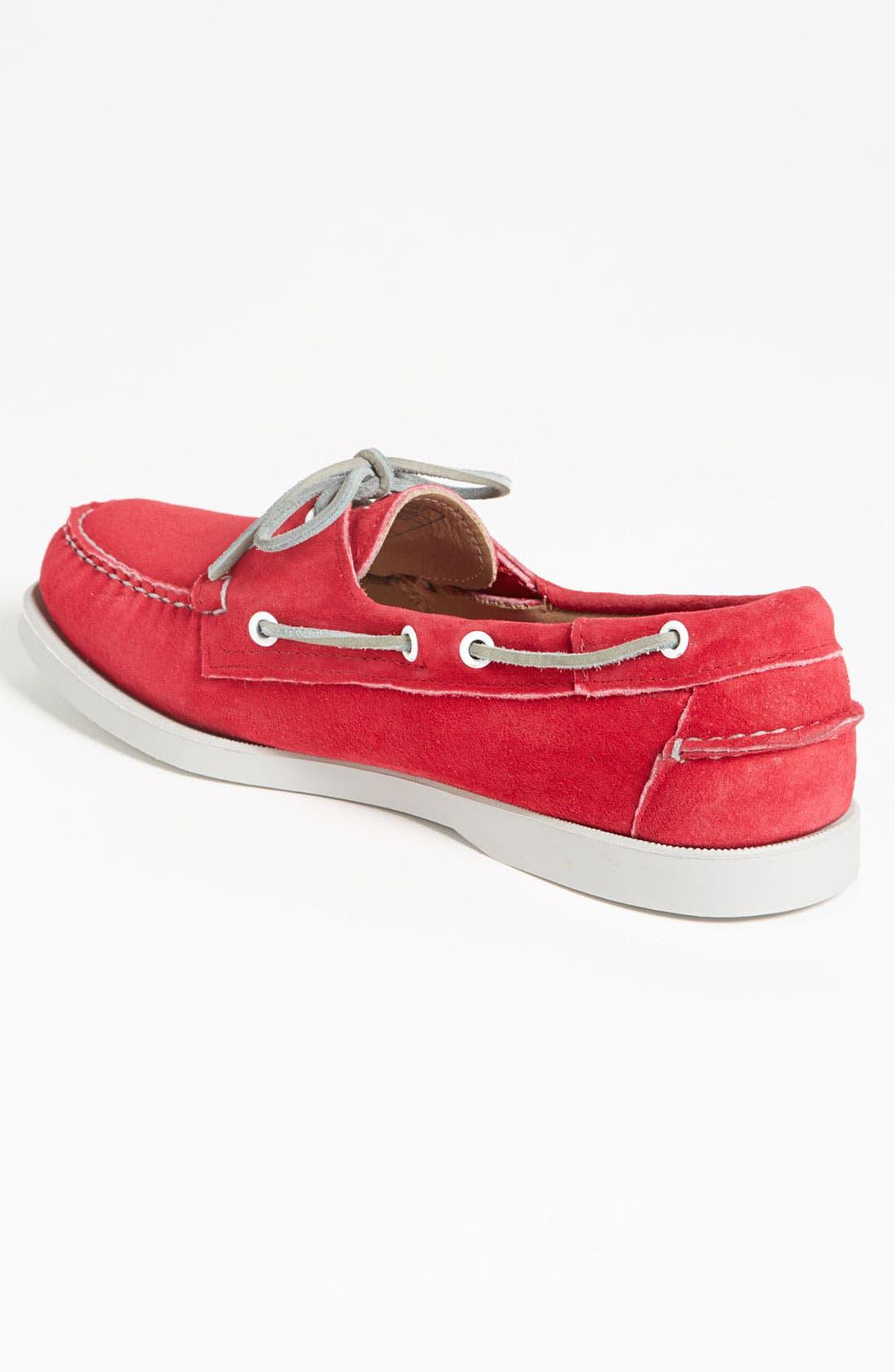 Alternate Image 2  - Sebago 'Docksides®' Suede Boat Shoe