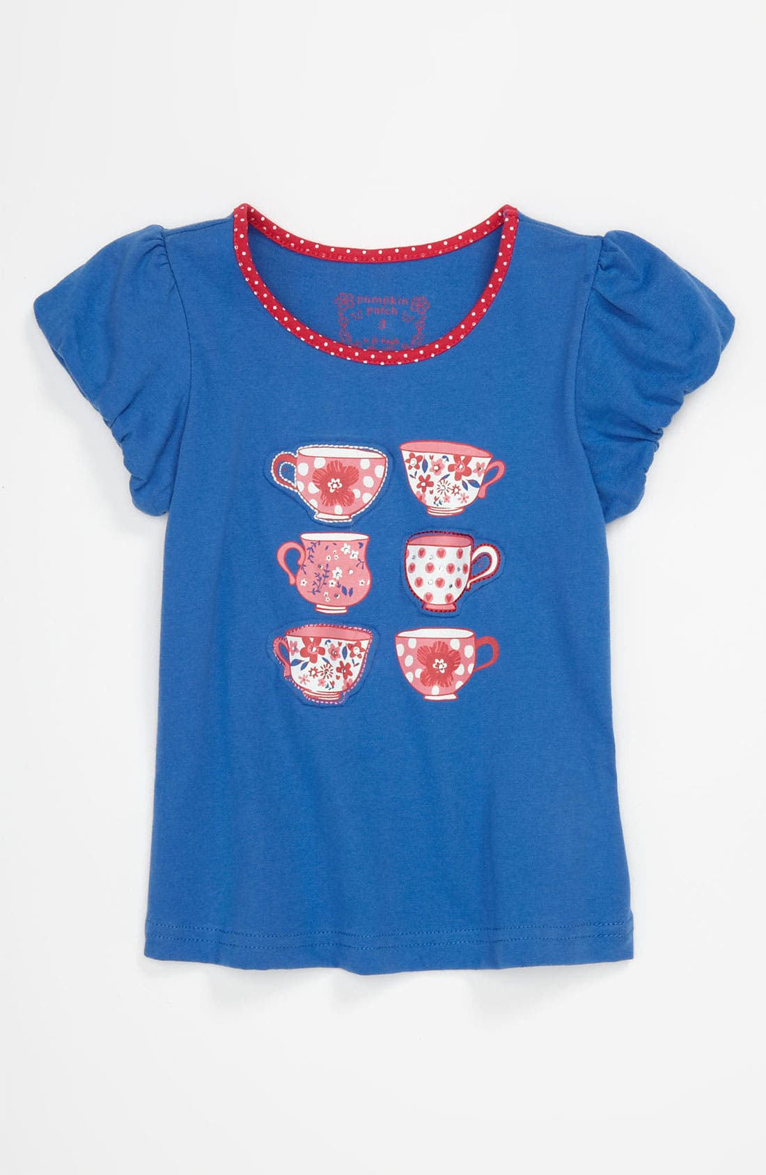 Alternate Image 1 Selected - Pumpkin Patch 'Teacup' Shirt (Toddler)