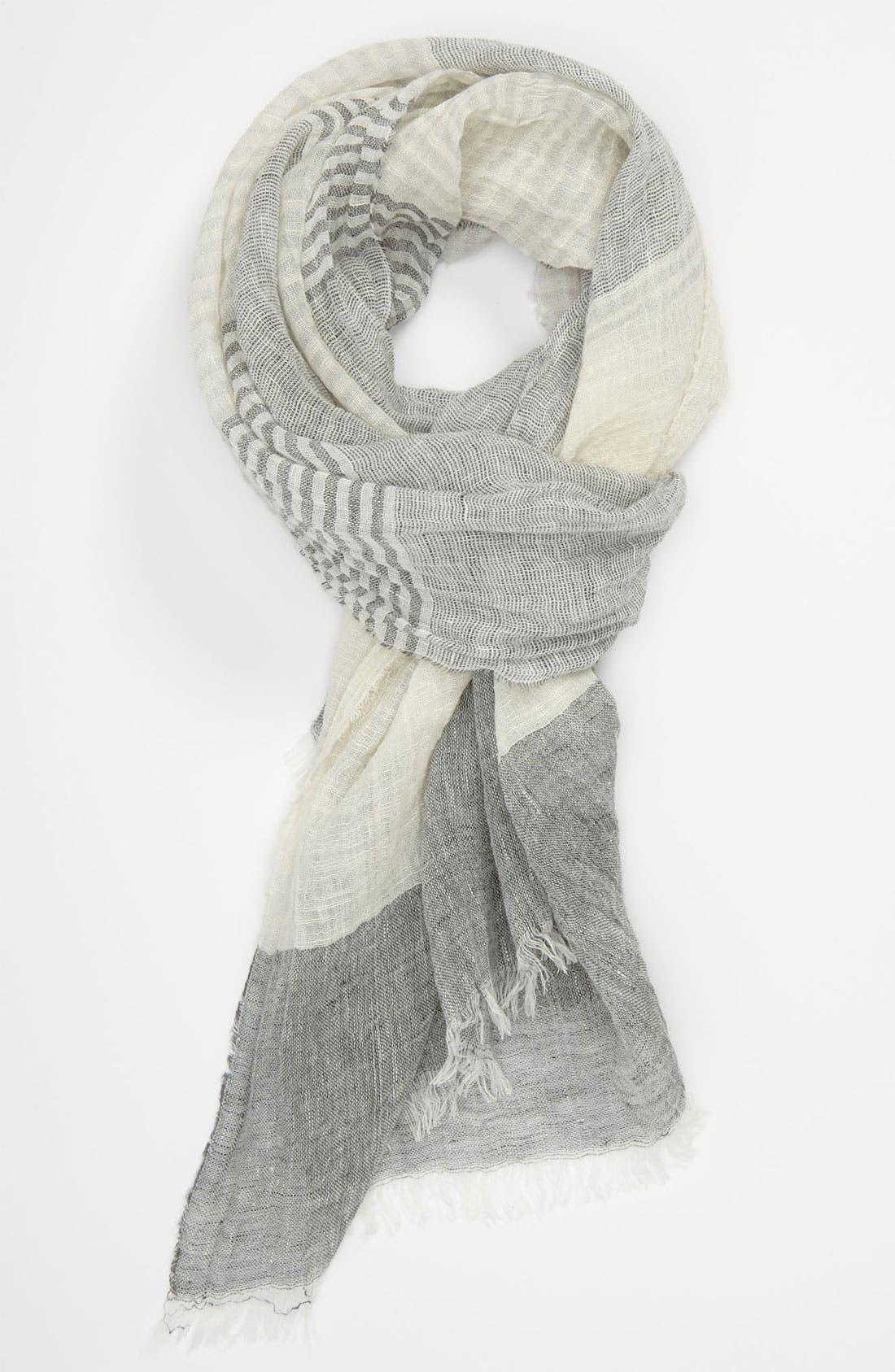 Alternate Image 1 Selected - rag & bone Linen Blend Scarf