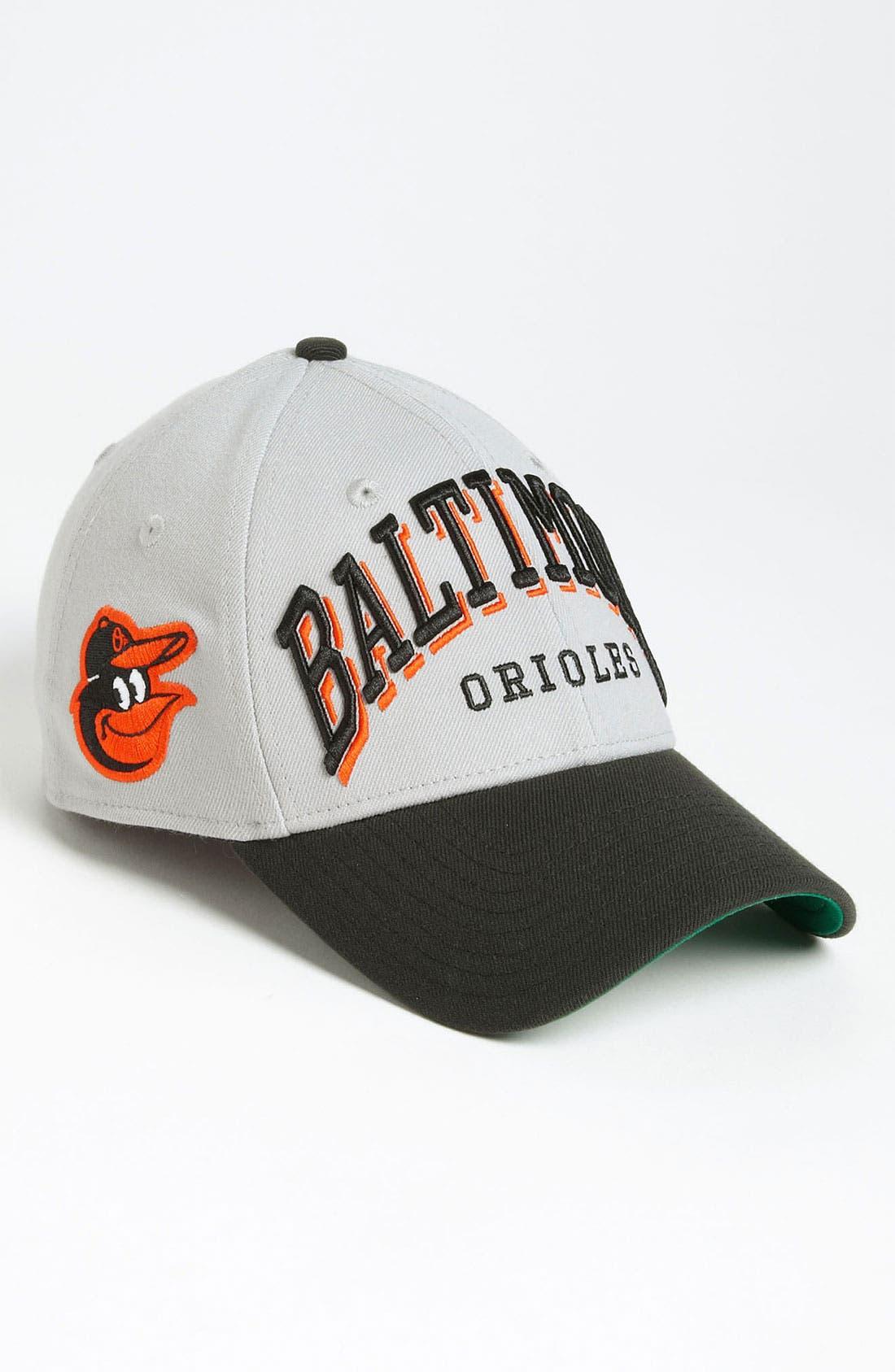 Alternate Image 2  - New Era Cap 'Baltimore Orioles - Arch Mark' Fitted Baseball Cap