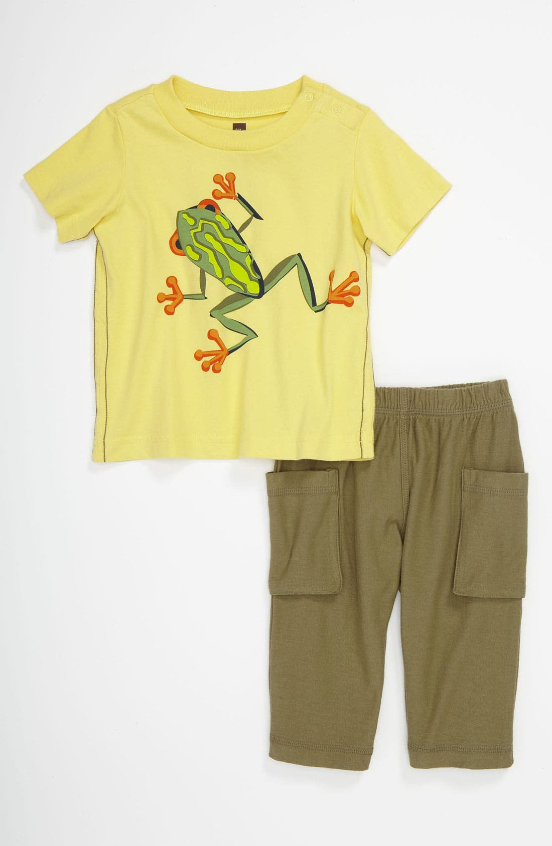 Main Image - Tea Collection T-Shirt & Pants (Baby)