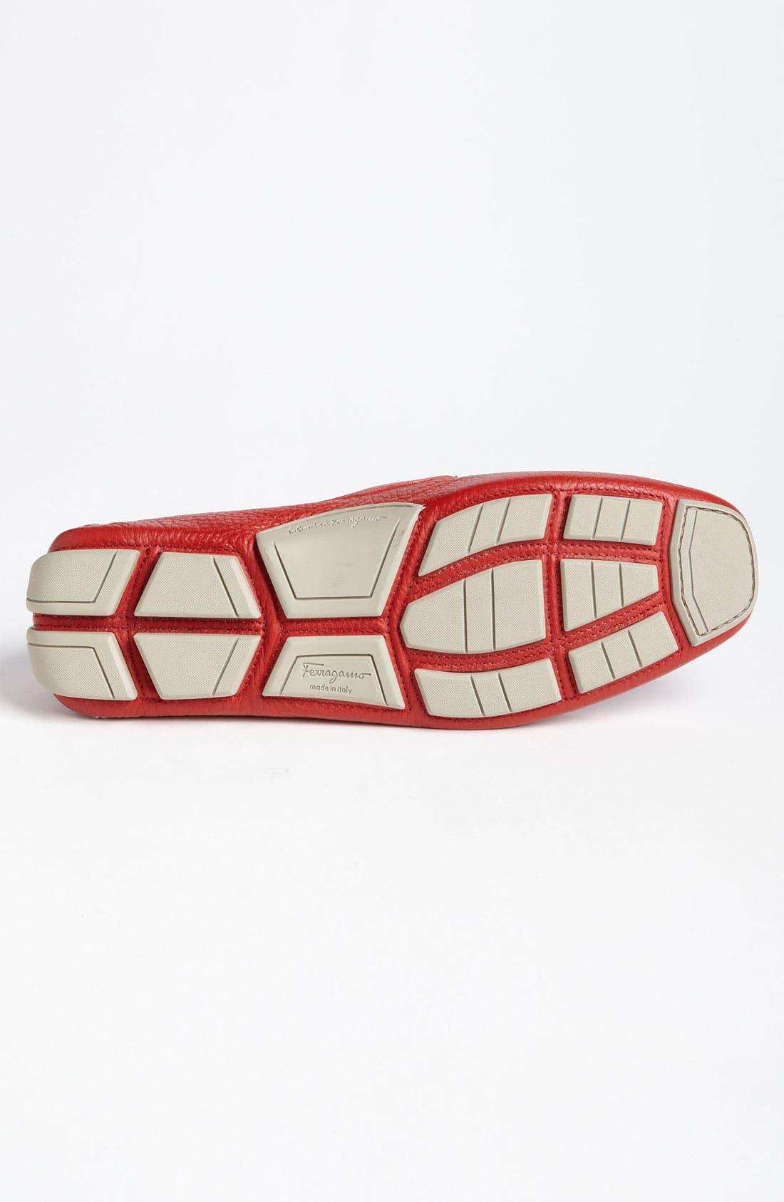 Alternate Image 4  - Salvatore Ferragamo 'Parigi' Driving Shoe