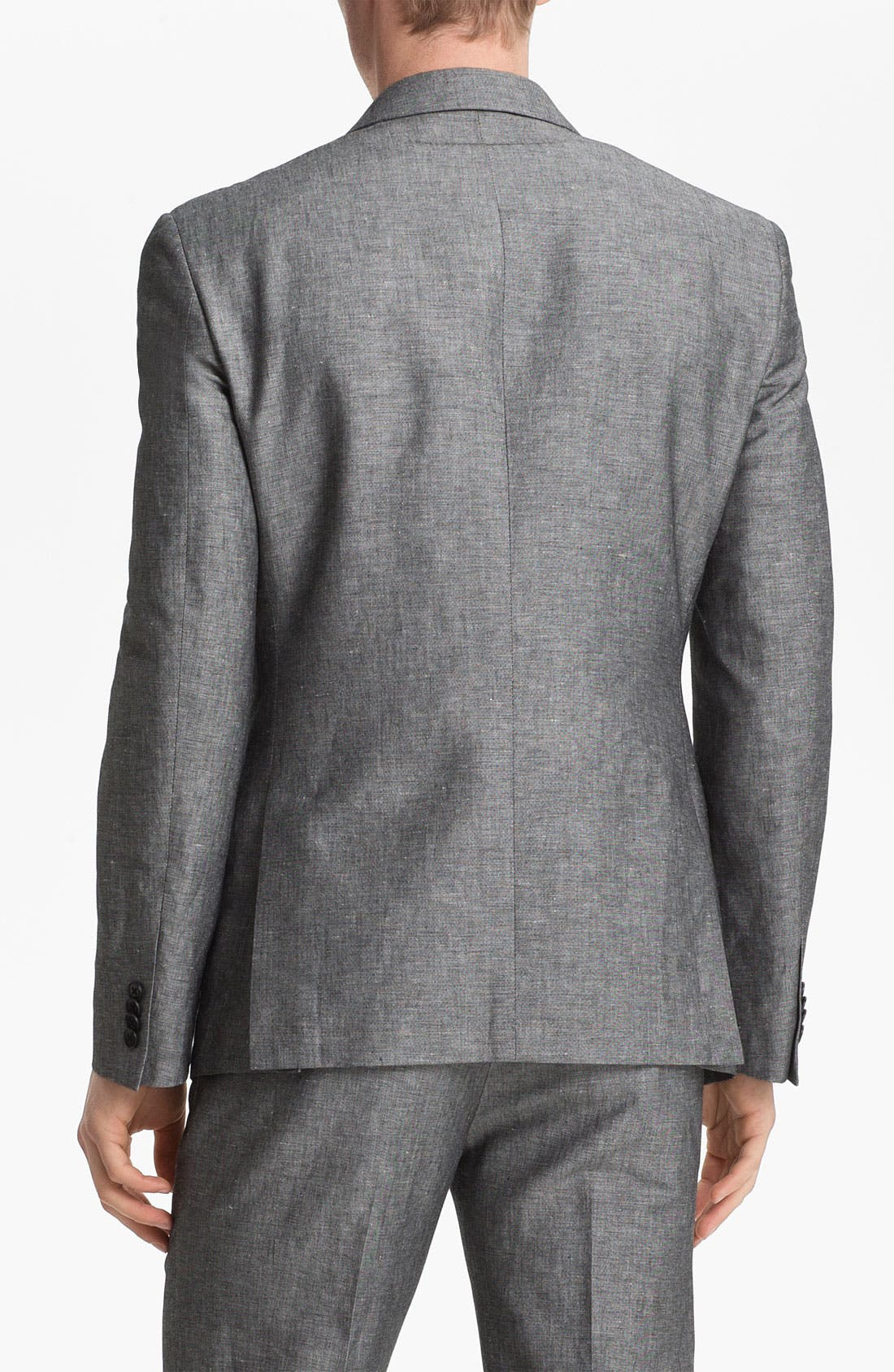 Alternate Image 2  - John Varvatos Star USA Red Label Linen & Cotton Blazer