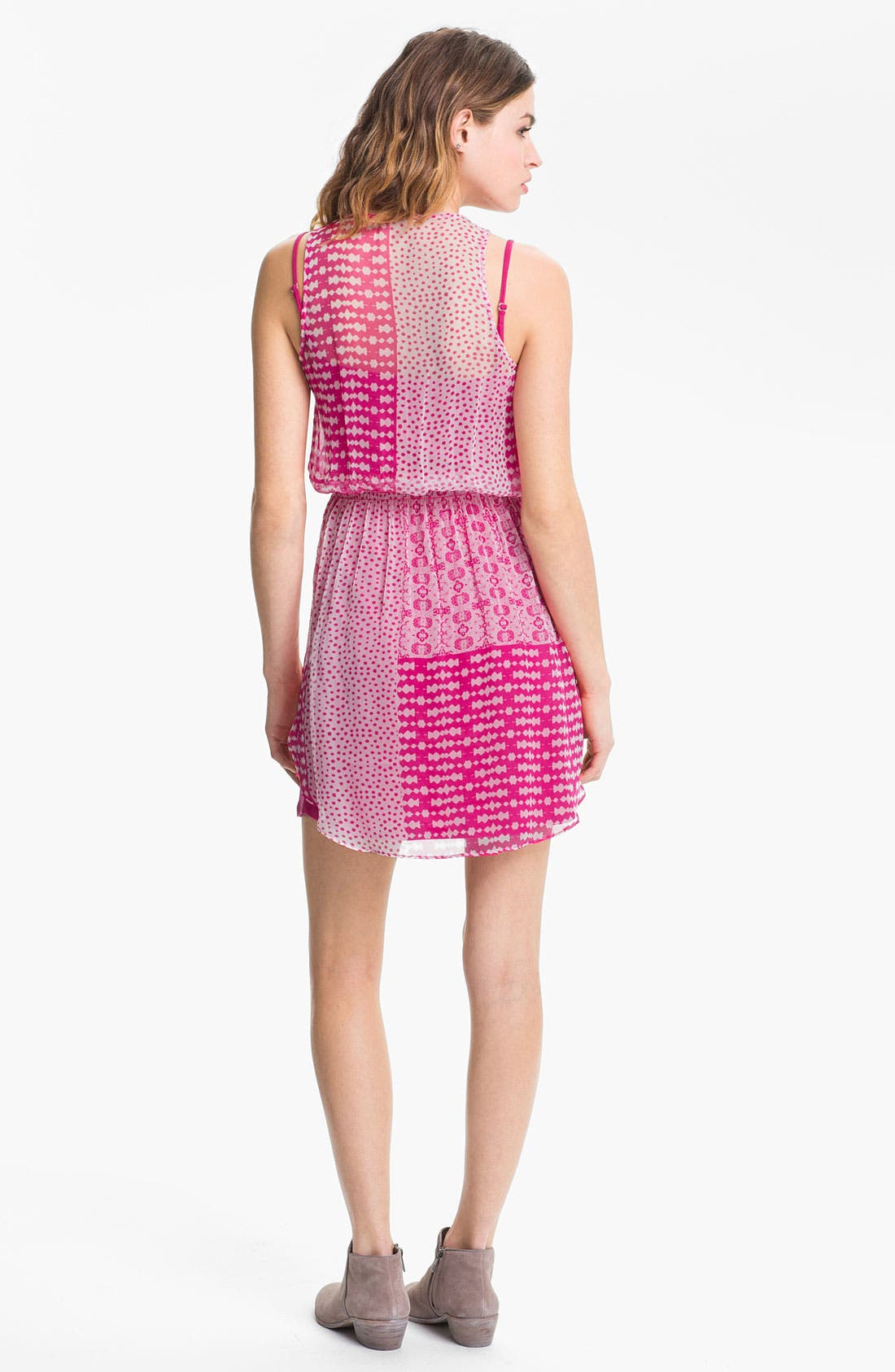 Alternate Image 2  - Ella Moss 'Lexi' Mix Print Dress