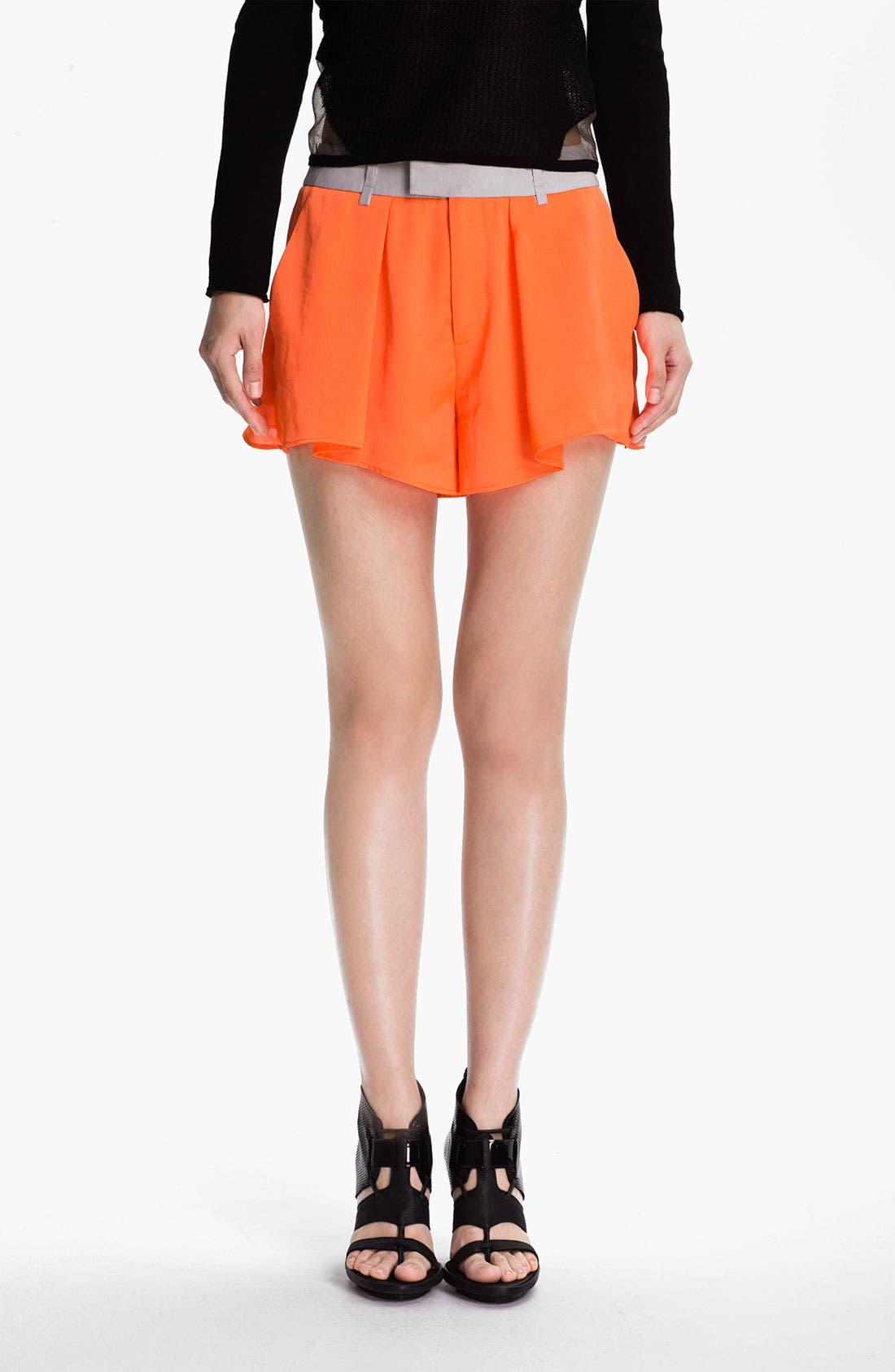 Main Image - Helmut Lang 'Chroma' Wide Leg Shorts