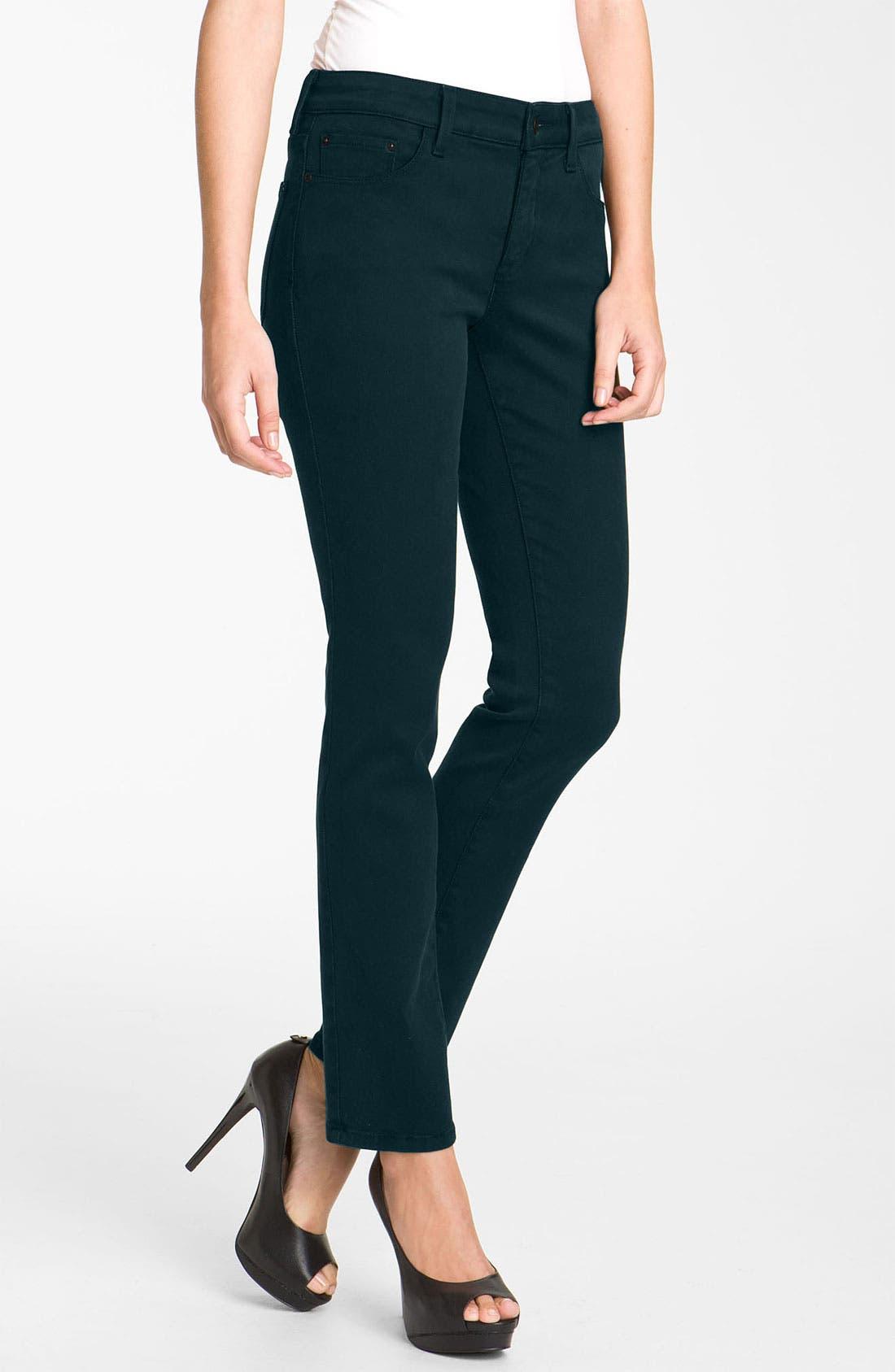 Alternate Image 1 Selected - NYDJ 'Jade' Denim Leggings (Petite)