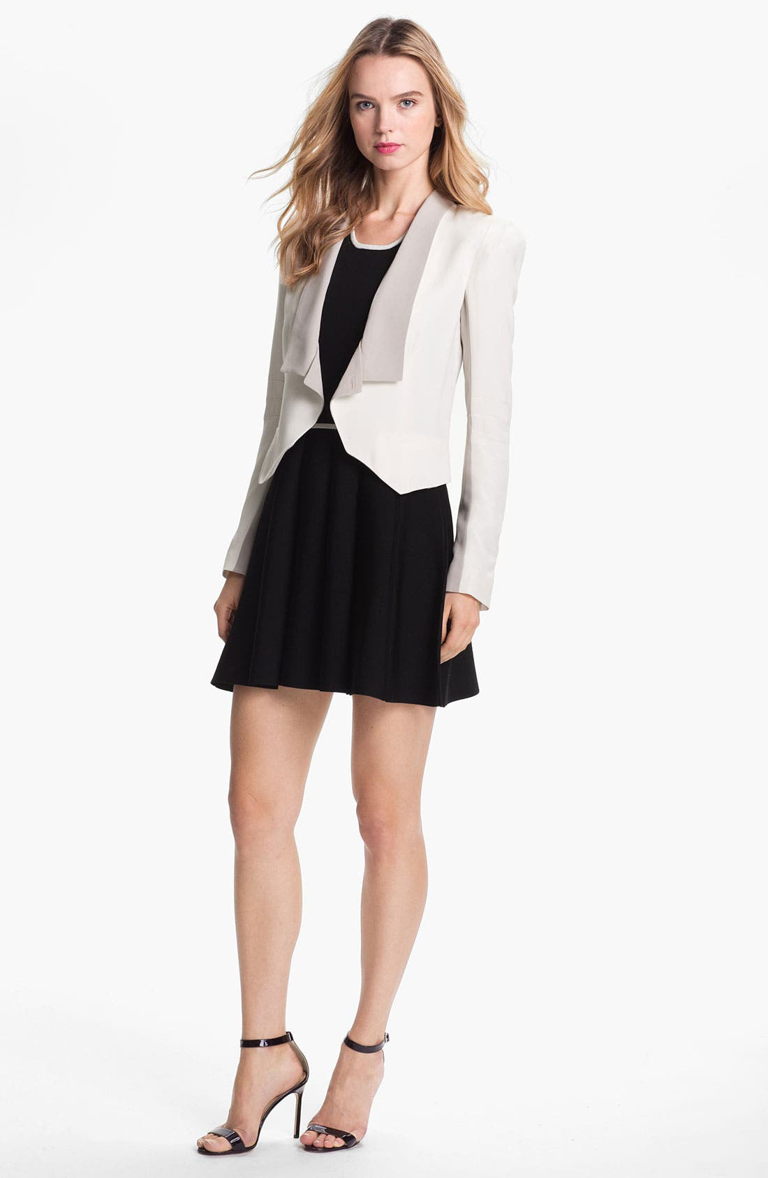 Alternate Image 1 Selected - Rebecca Minkoff 'San Diego' Silk Blazer