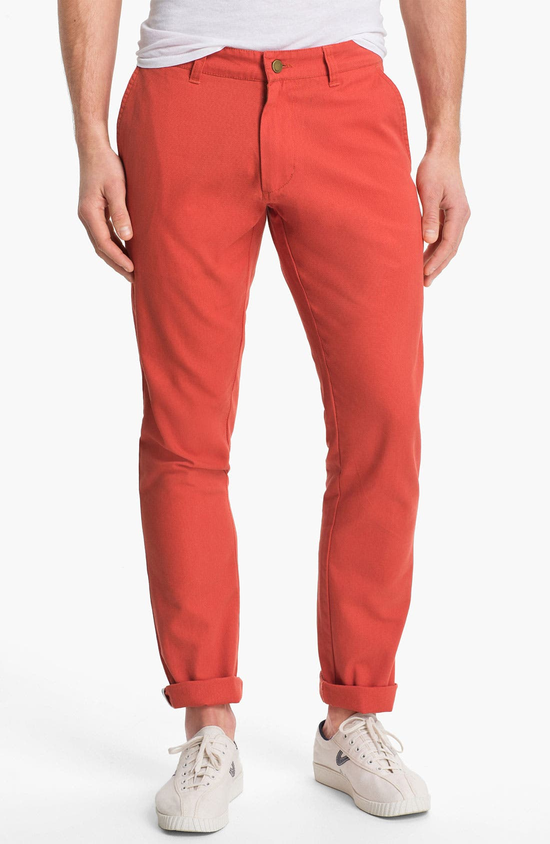 Alternate Image 1 Selected - Obey 'Angler' Slim Straight Leg Chinos