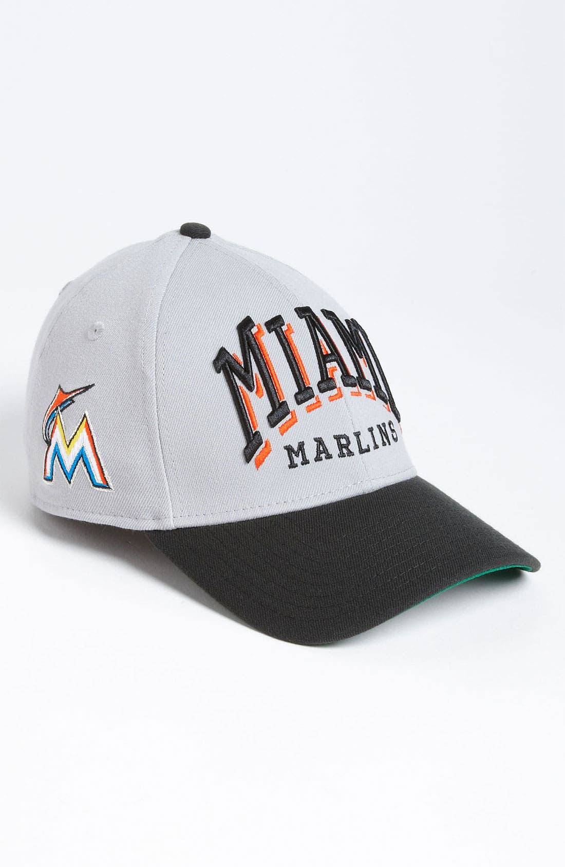 Alternate Image 2  - New Era Cap 'Miami Marlins - Arch Mark' Fitted Baseball Cap