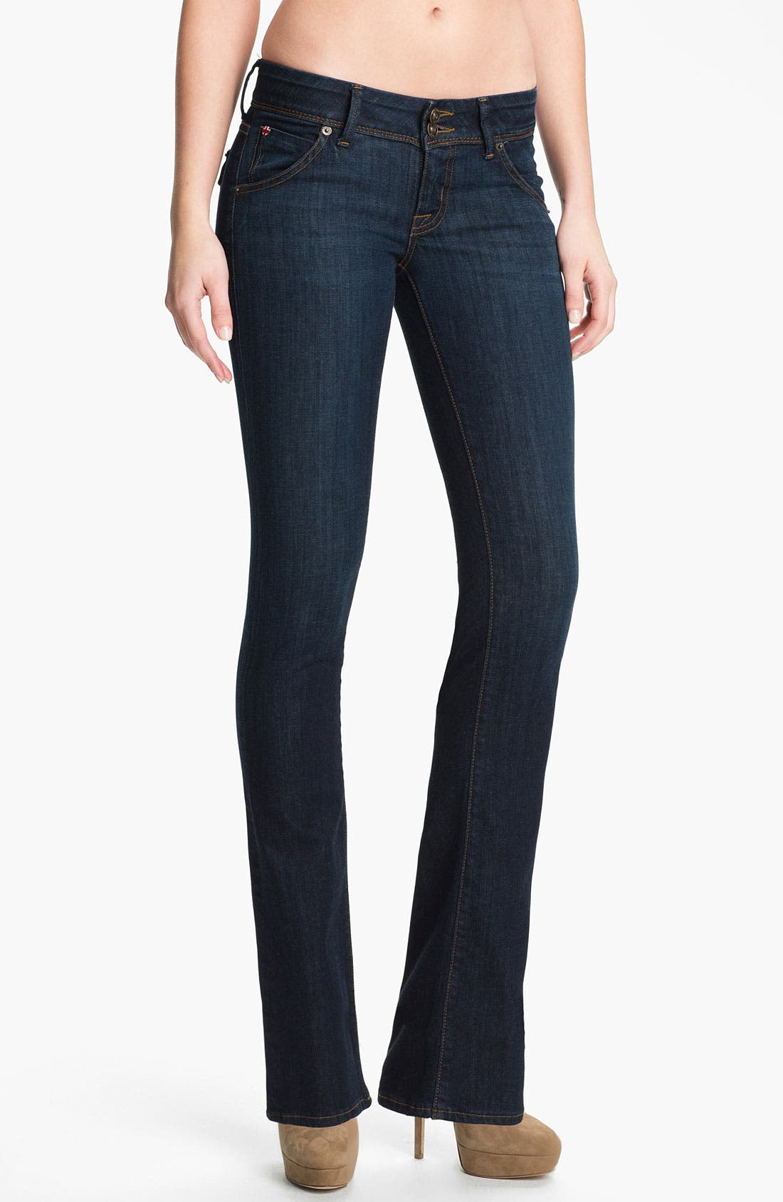 Alternate Image 1 Selected - Hudson Jeans 'Beth' Baby Bootcut Jeans (Rhea)