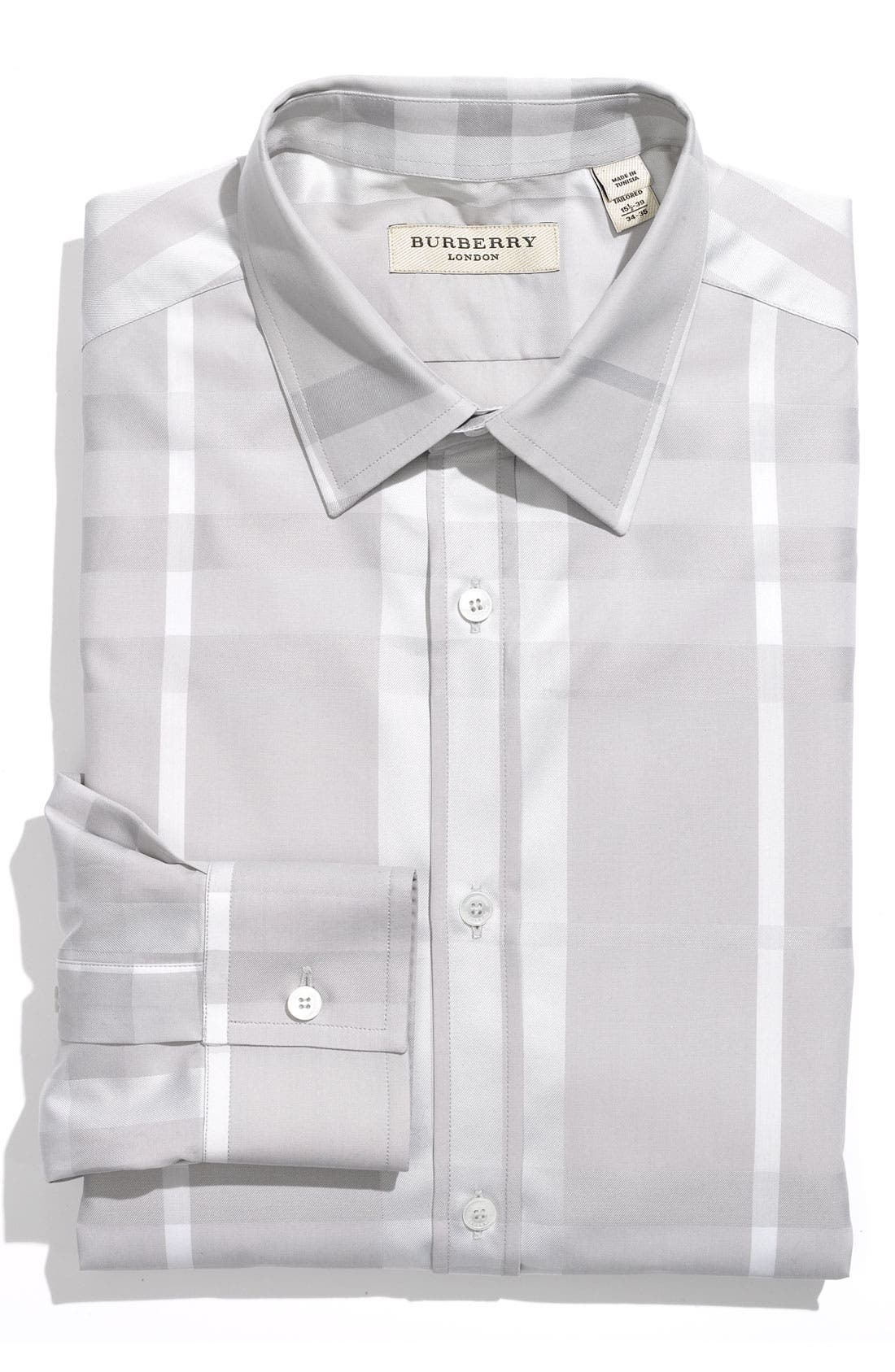 Alternate Image 1 Selected - Burberry London Tailored Fit Dress Shirt