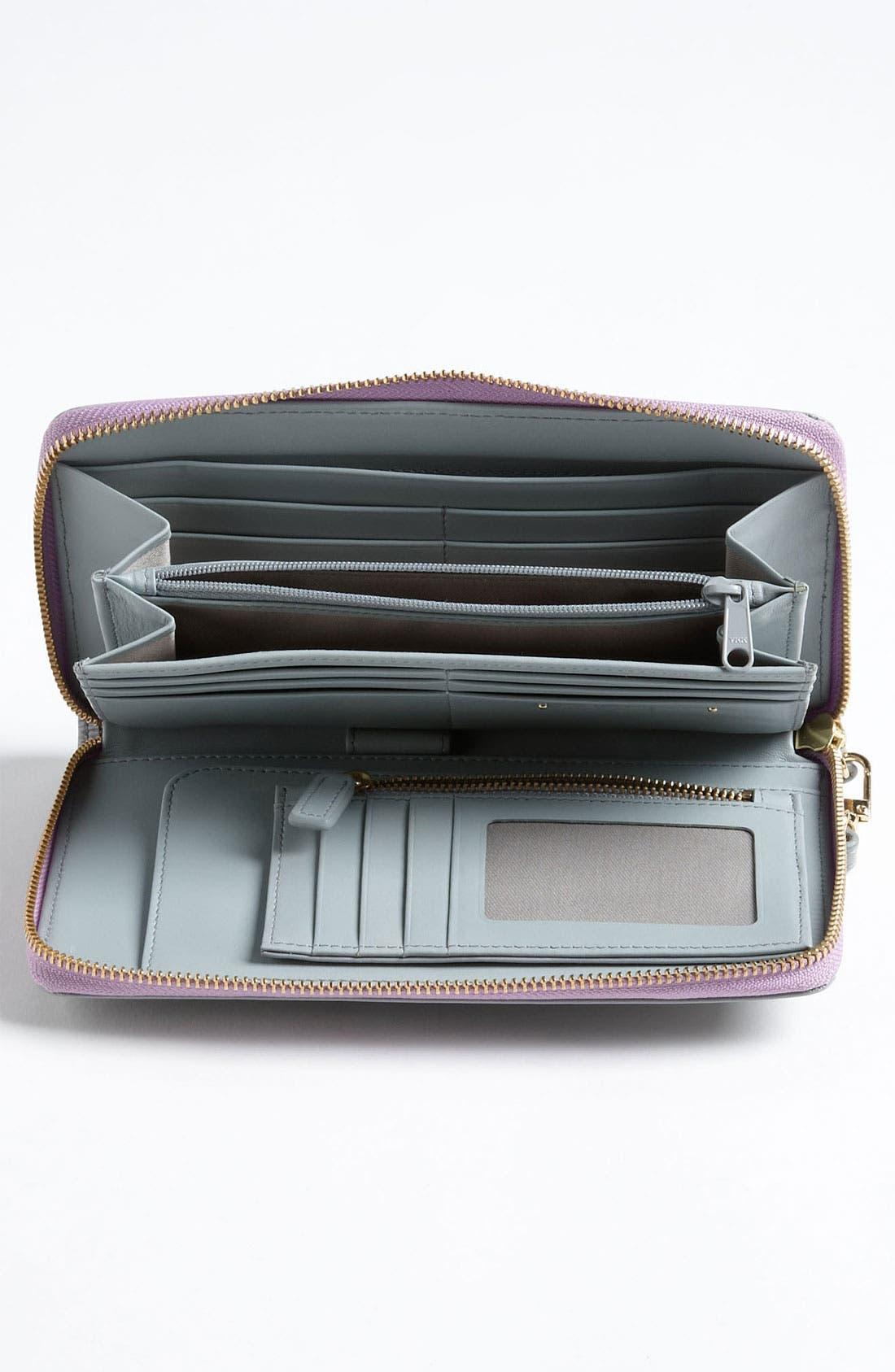 Alternate Image 3  - Halogen Zip Around Wallet