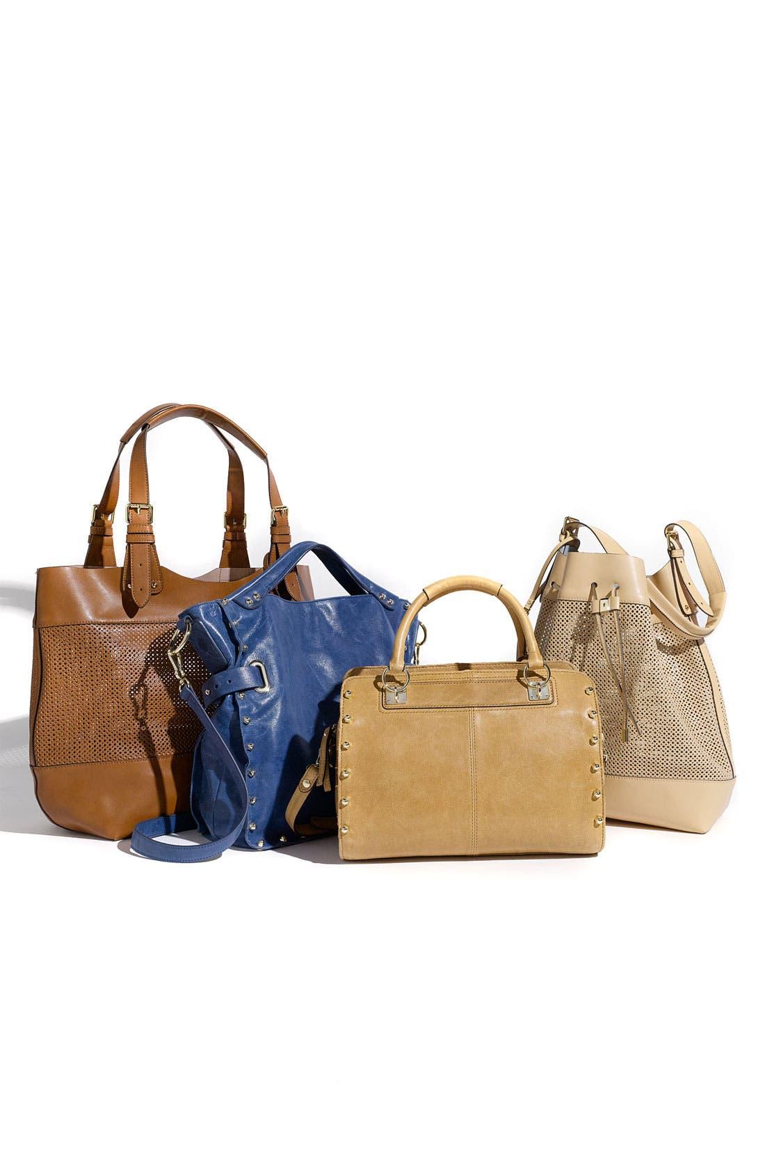 Alternate Image 2  - Vince Camuto Perforated Drawstring Shoulder Bag