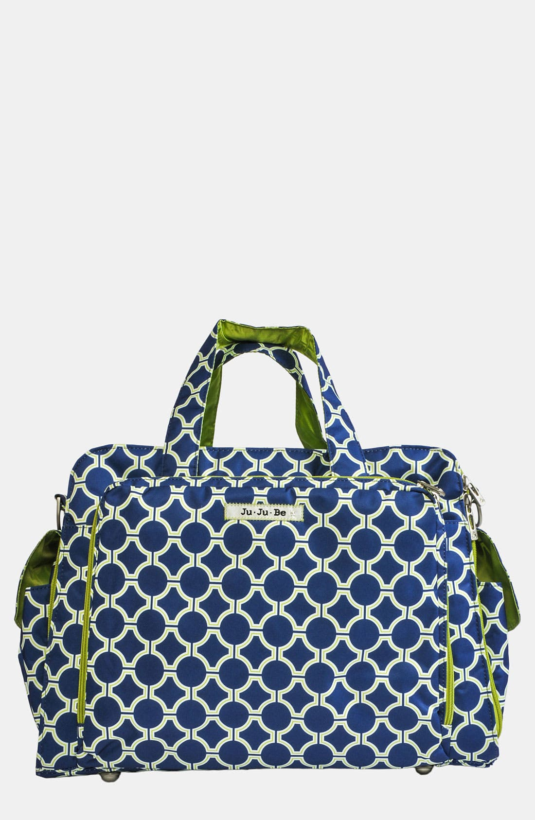 'Be Prepared' Diaper Tote,                         Main,                         color, Royal Envy