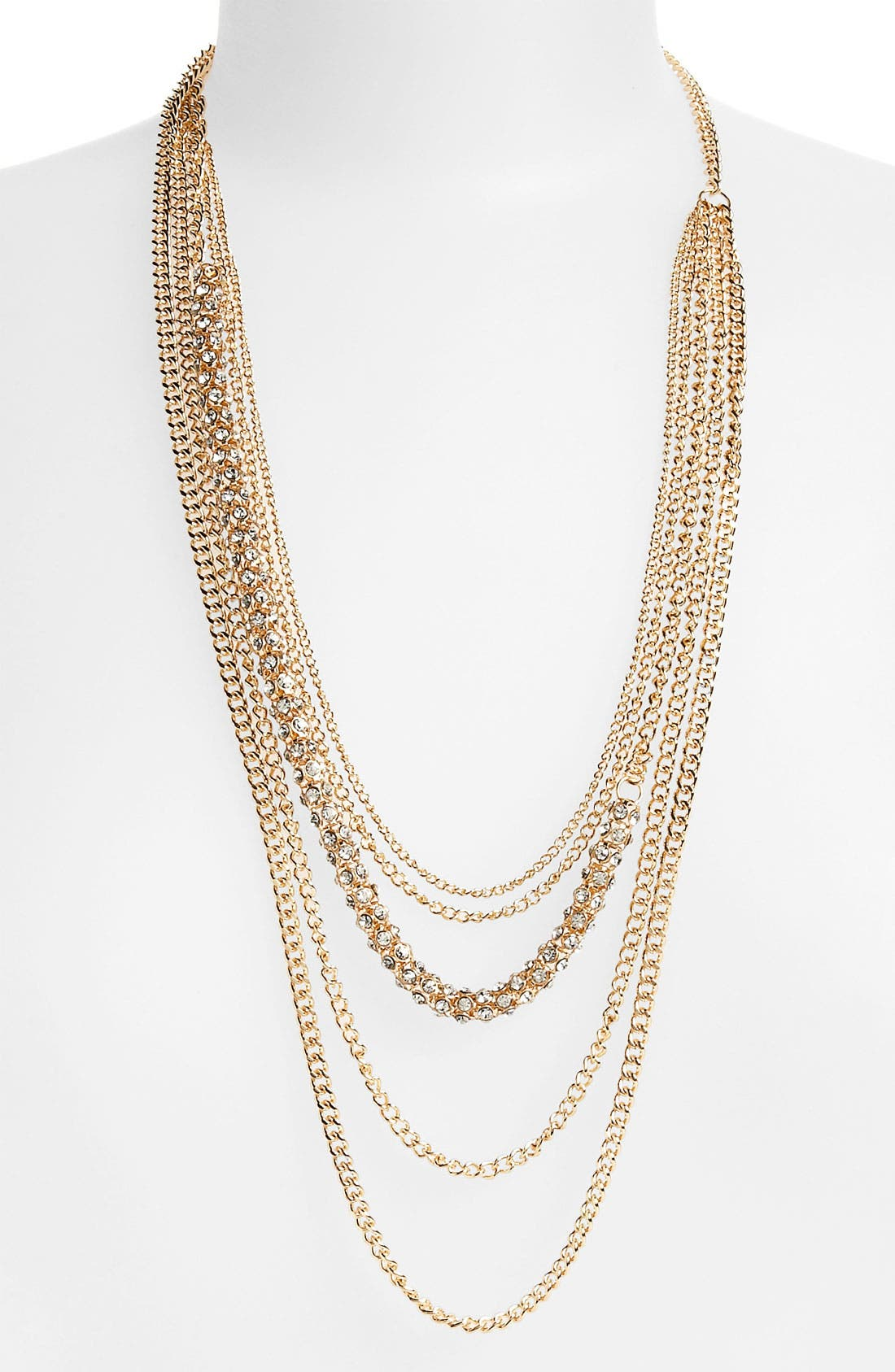 Main Image - BP. Layered Multistrand Necklace