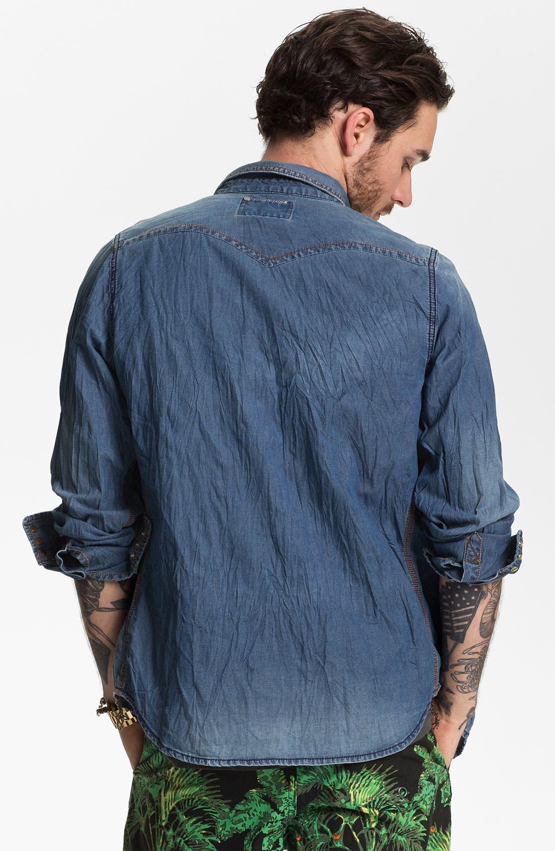Alternate Image 2  - PRPS 'Sonora' Denim Shirt