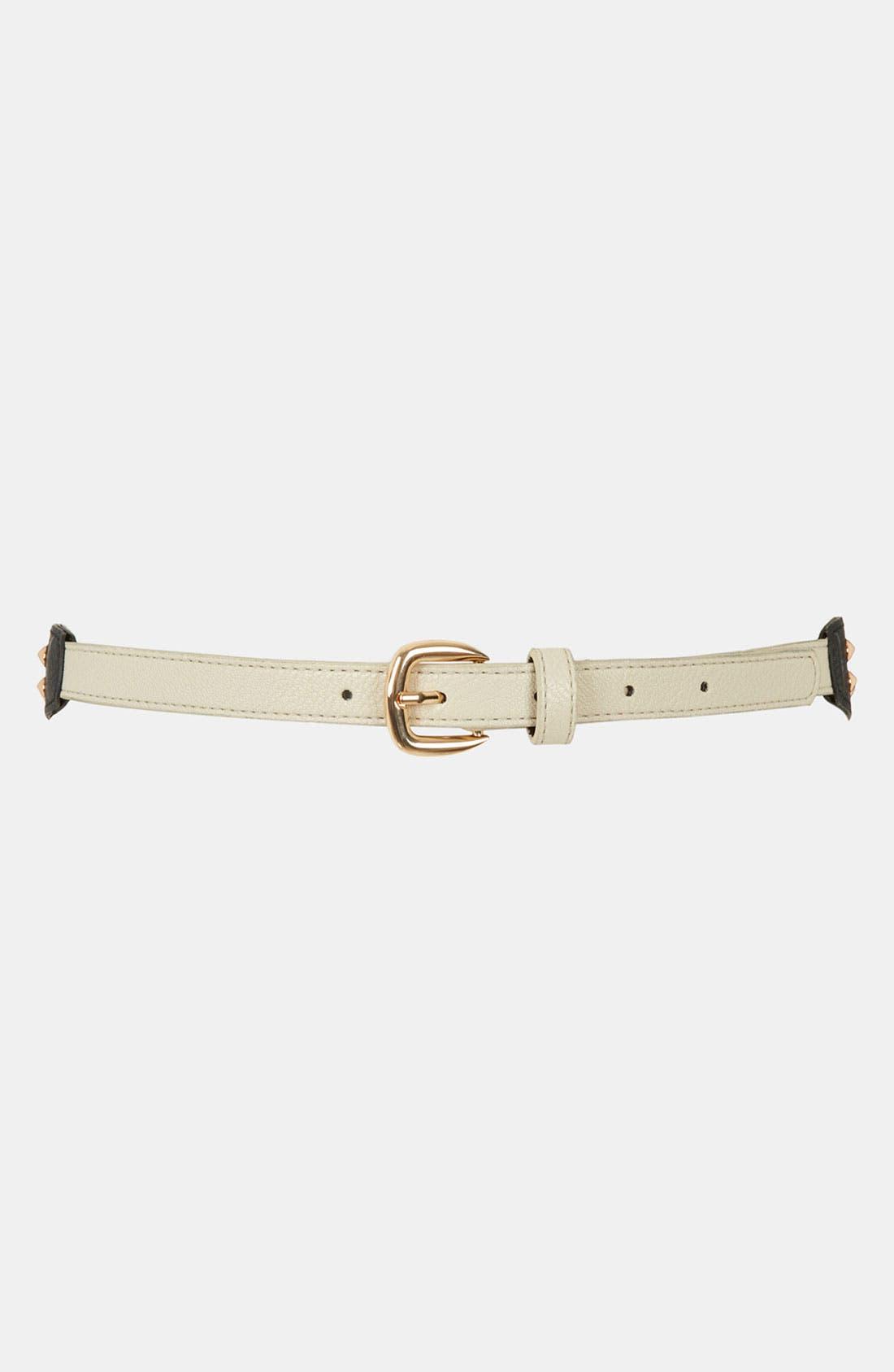 Alternate Image 1 Selected - Topshop Studded Belt