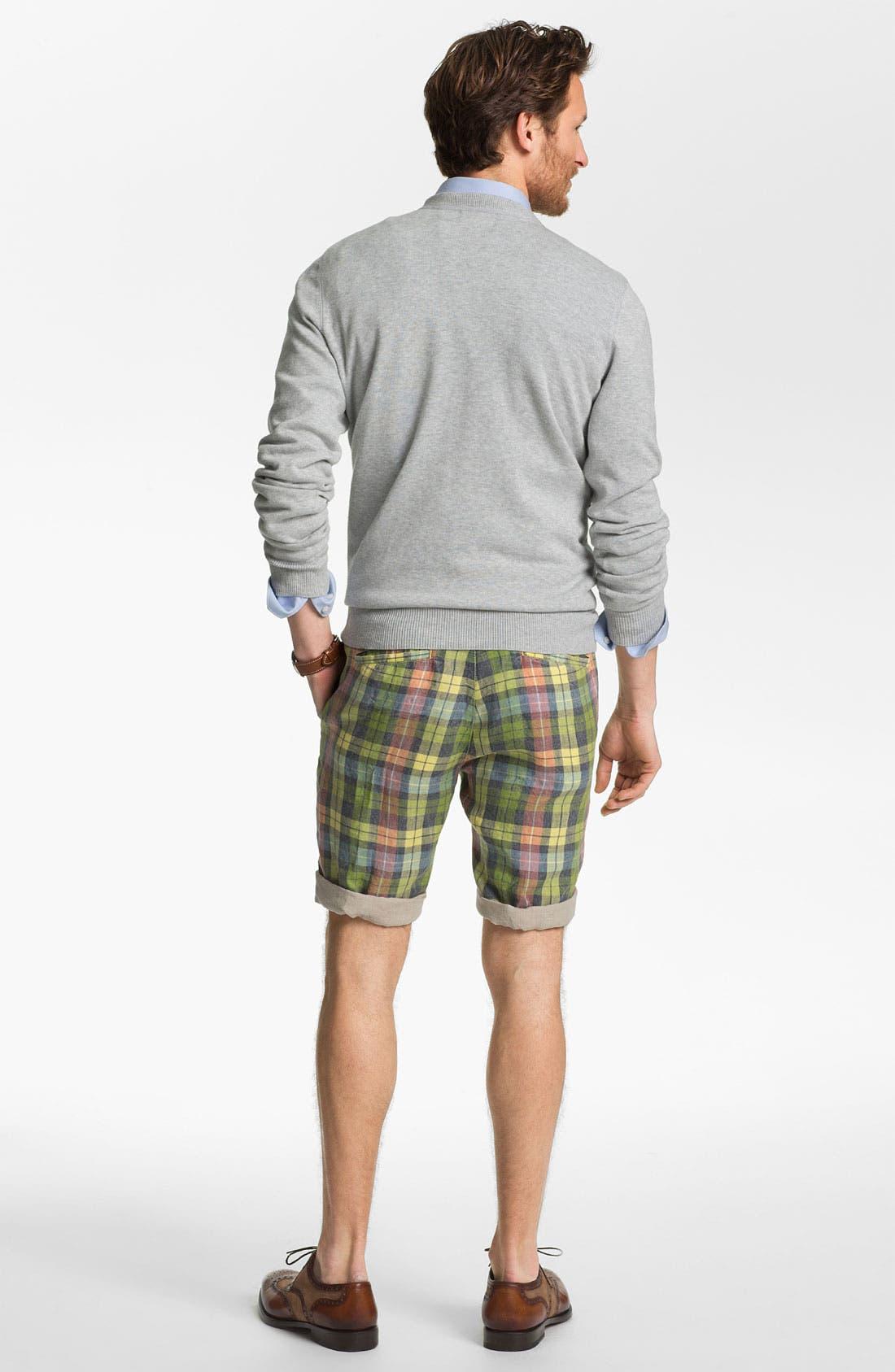 Alternate Image 6  - Tailor Vintage Reversible Linen Shorts