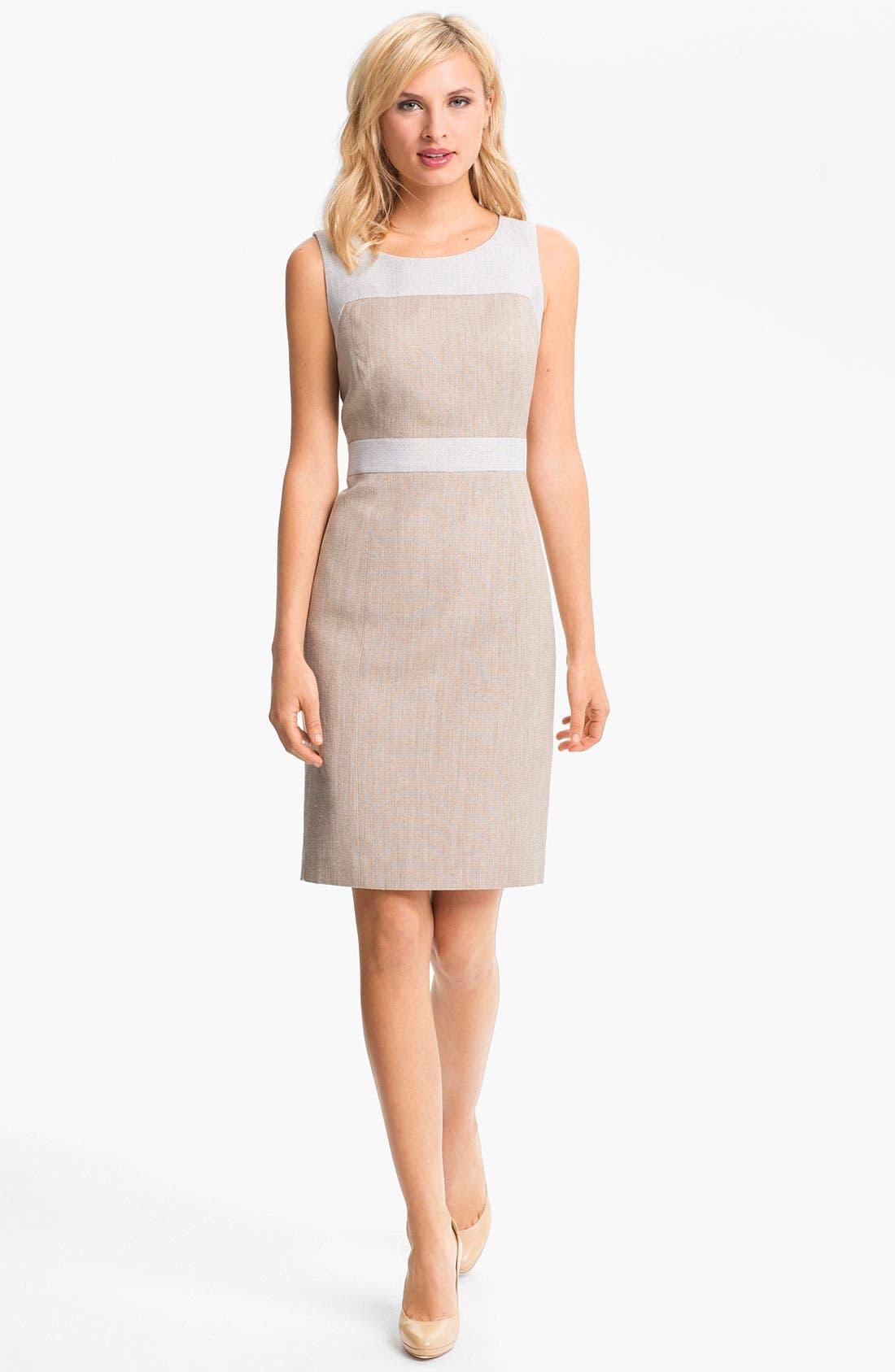 Alternate Image 1 Selected - Classiques Entier 'Sabin' Tweed Dress