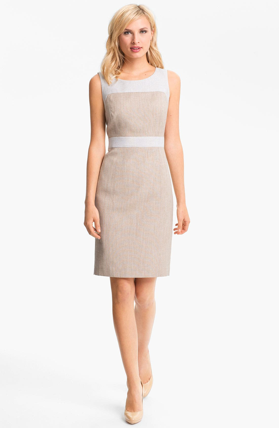 Main Image - Classiques Entier 'Sabin' Tweed Dress