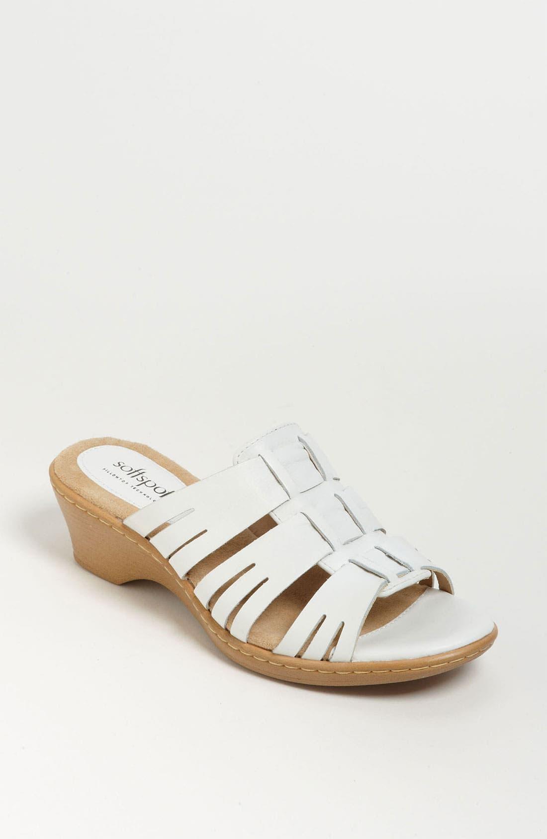 Alternate Image 1 Selected - Softspots 'Hilary' Sandal