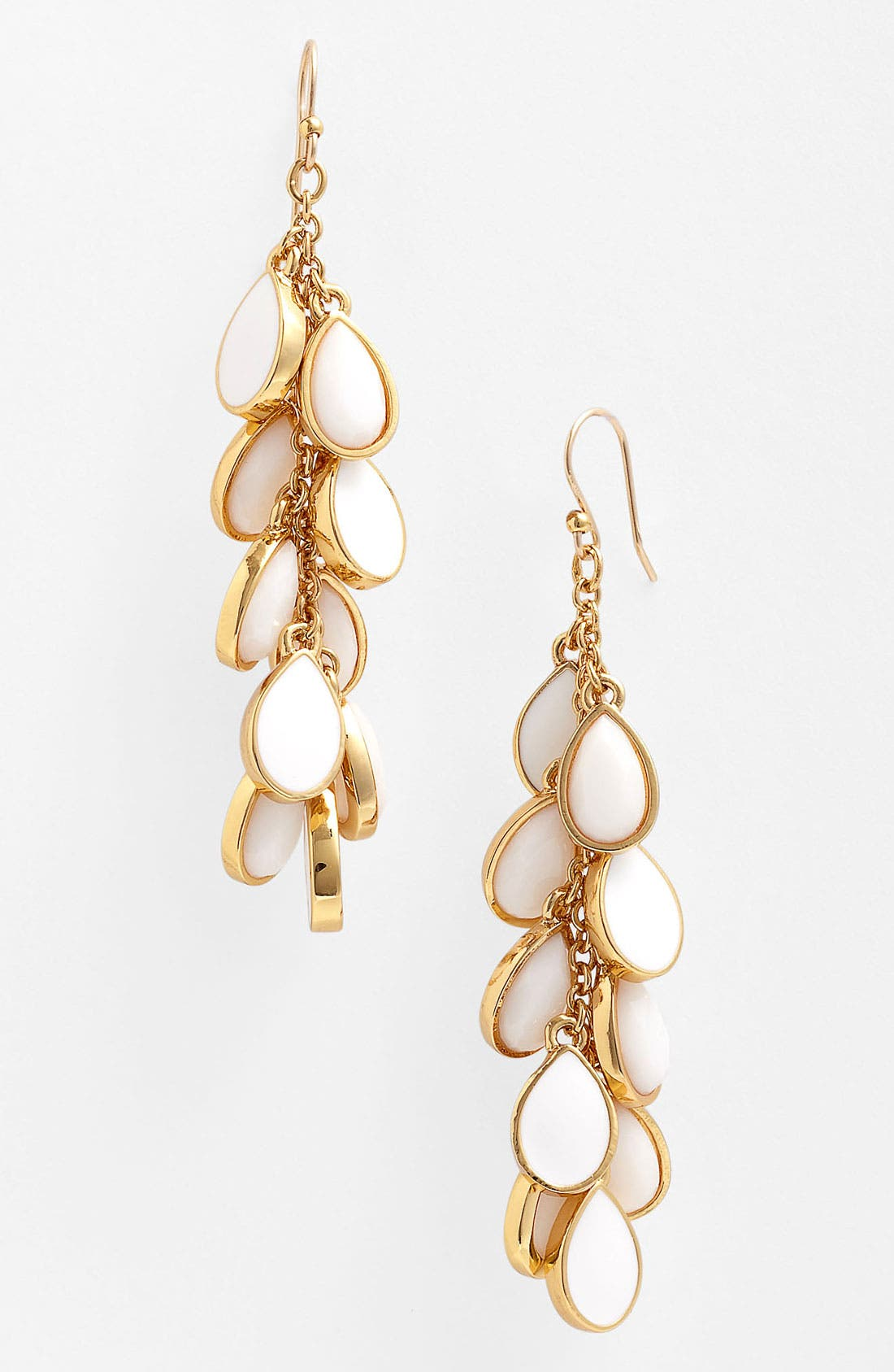 Main Image - kate spade new york 'petal pusher' linear earrings
