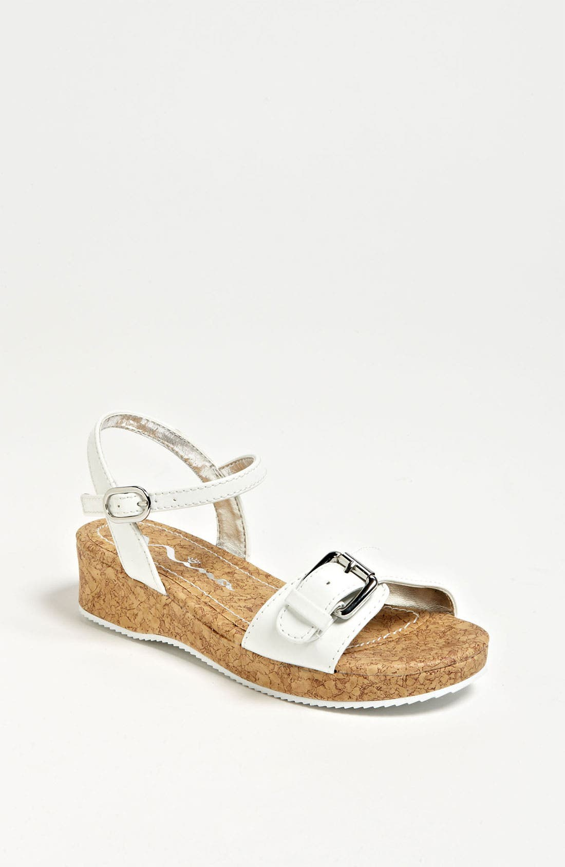 Alternate Image 1 Selected - Nina 'Yuki' Wedge Sandal (Toddler, Little Kid & Big Kid)