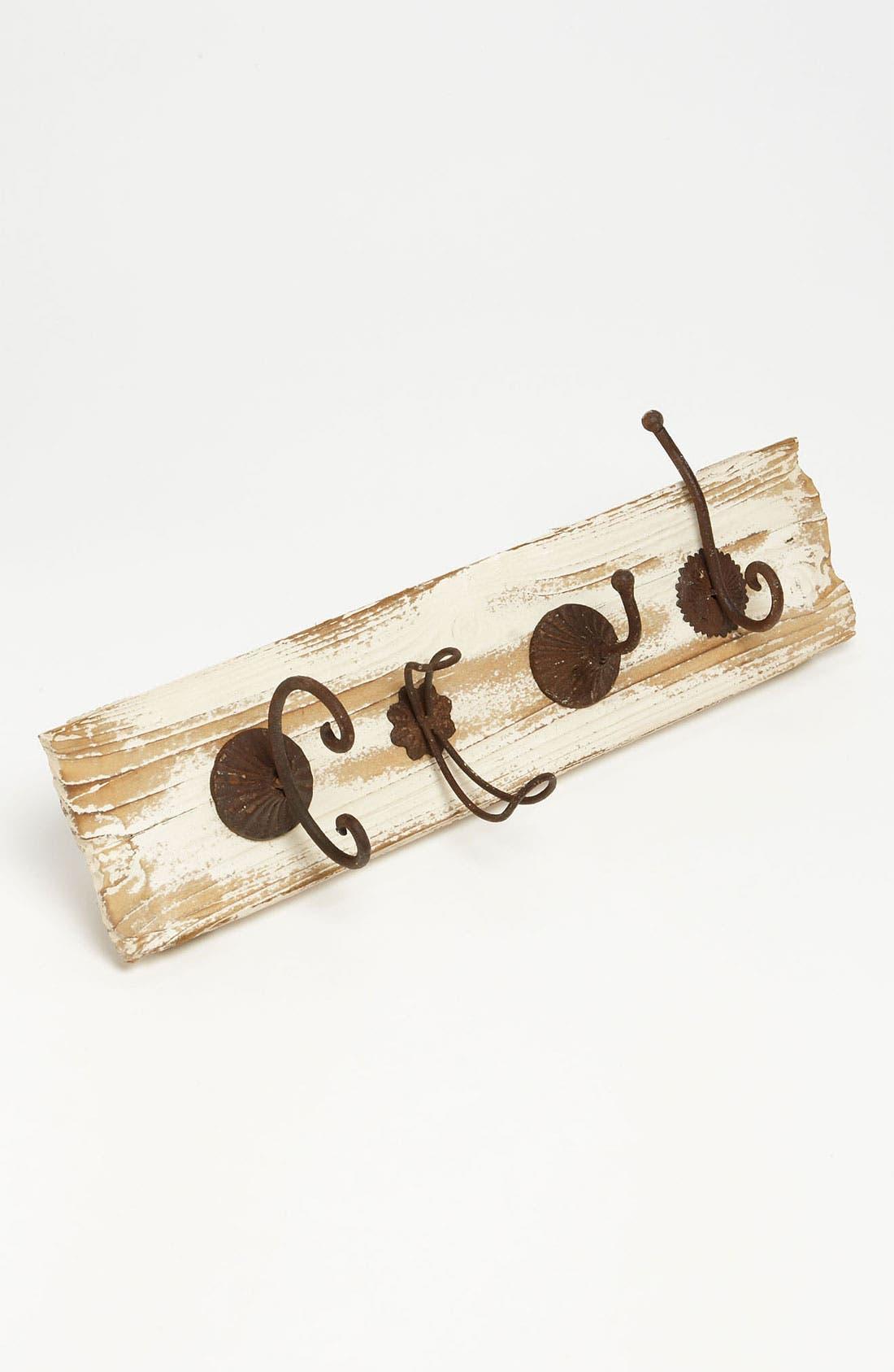 Main Image - Distressed Wood Coat Rack