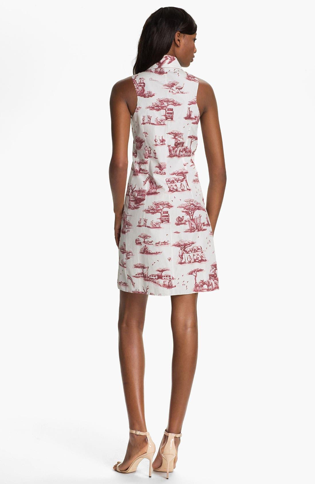 Alternate Image 2  - Carven Safari Print Poplin Dress