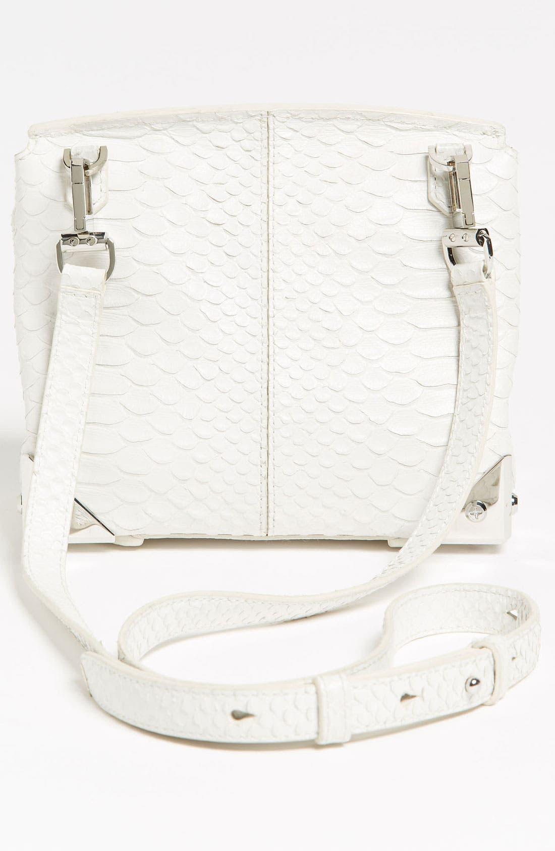 Alternate Image 4  - Alexander Wang 'Marion - Prisma' Python Embossed Leather Crossbody Bag