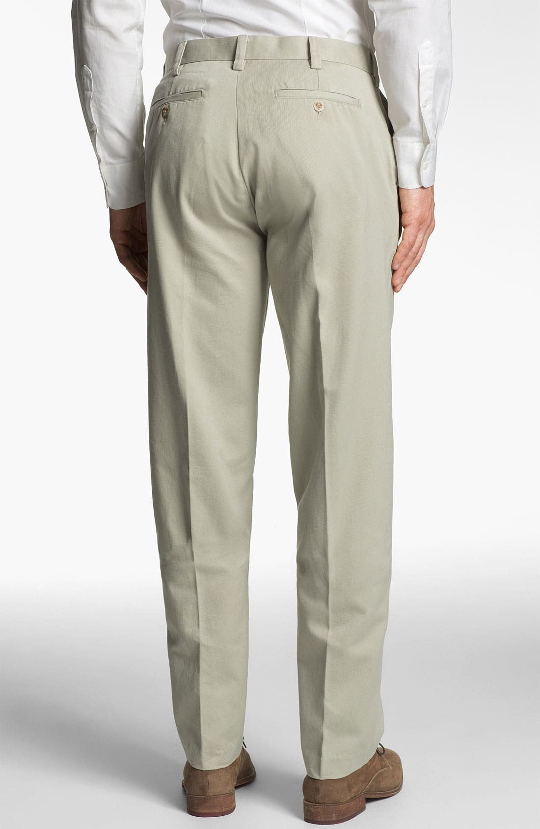 Alternate Image 2  - ROAD 'Lux' Flat Front Twill Trousers