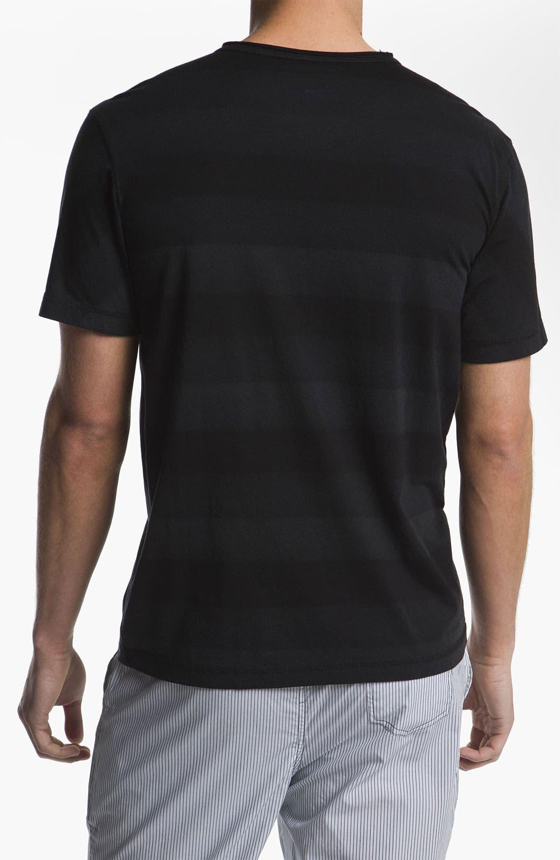 Alternate Image 2  - Daniel Buchler Hand Painted Peruvian Pima Cotton T-Shirt