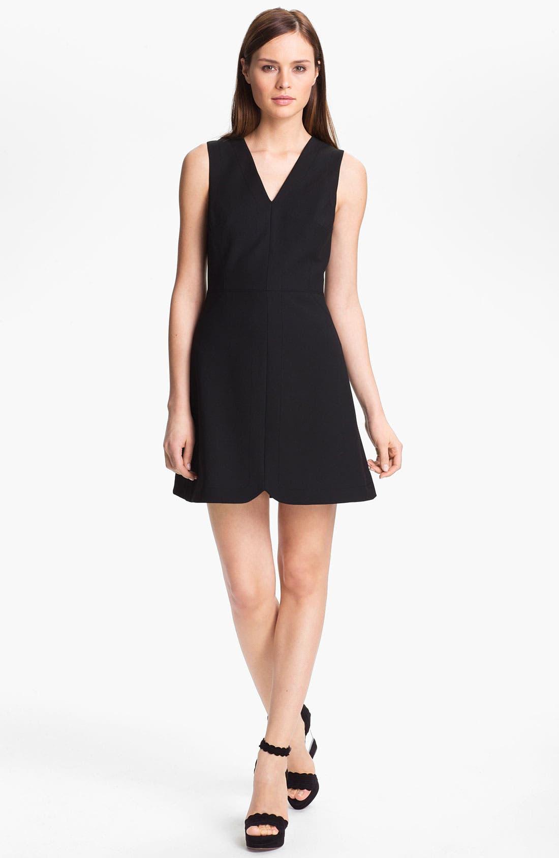 Alternate Image 1 Selected - Tibi Sleeveless Stretch Knit Dress