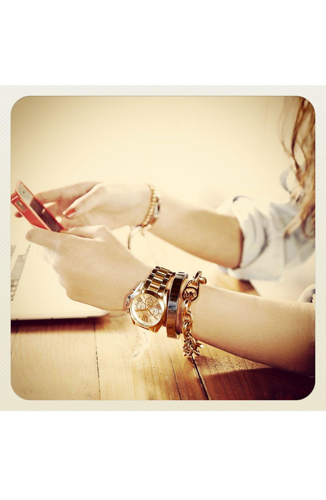 Alternate Image 2  - Michael Kors Logo Toggle Bracelet
