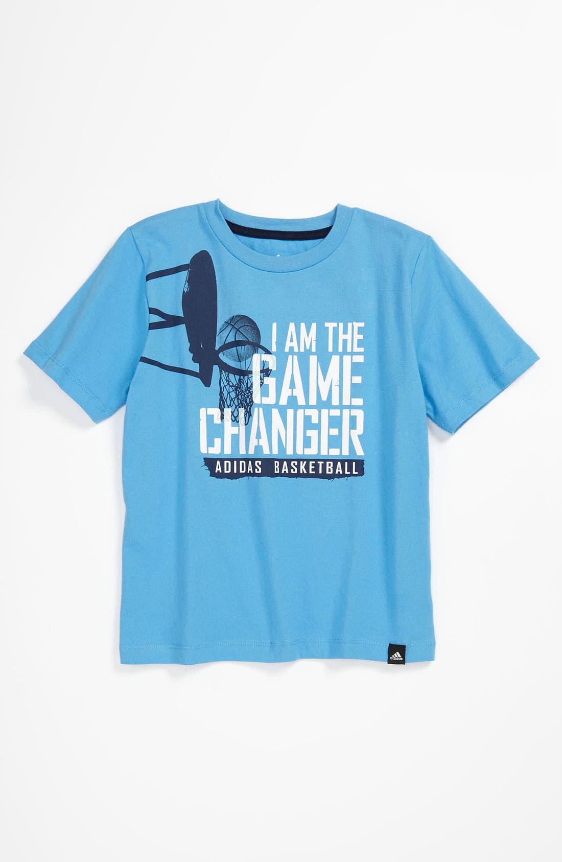 Alternate Image 1 Selected - adidas 'Game Changer' T-Shirt (Little Boys)