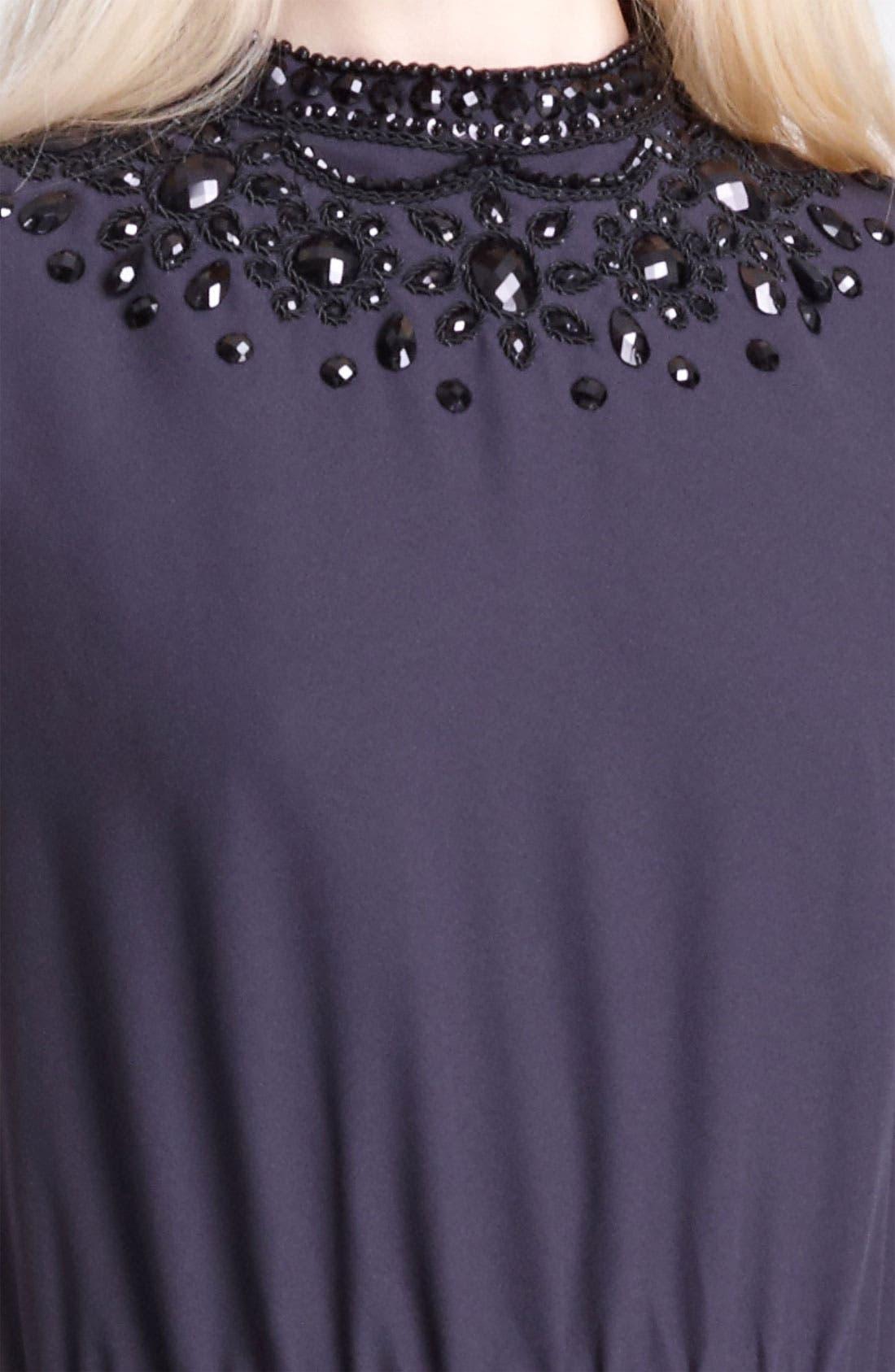 Alternate Image 3  - Moschino Cheap & Chic Beaded Neckline Maxi Dress