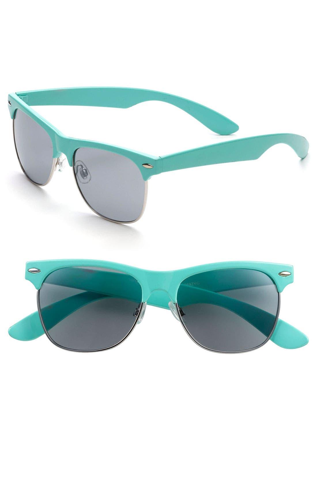 Main Image - Icon Eyewear 'Gloria' Retro Sunglasses (Juniors)