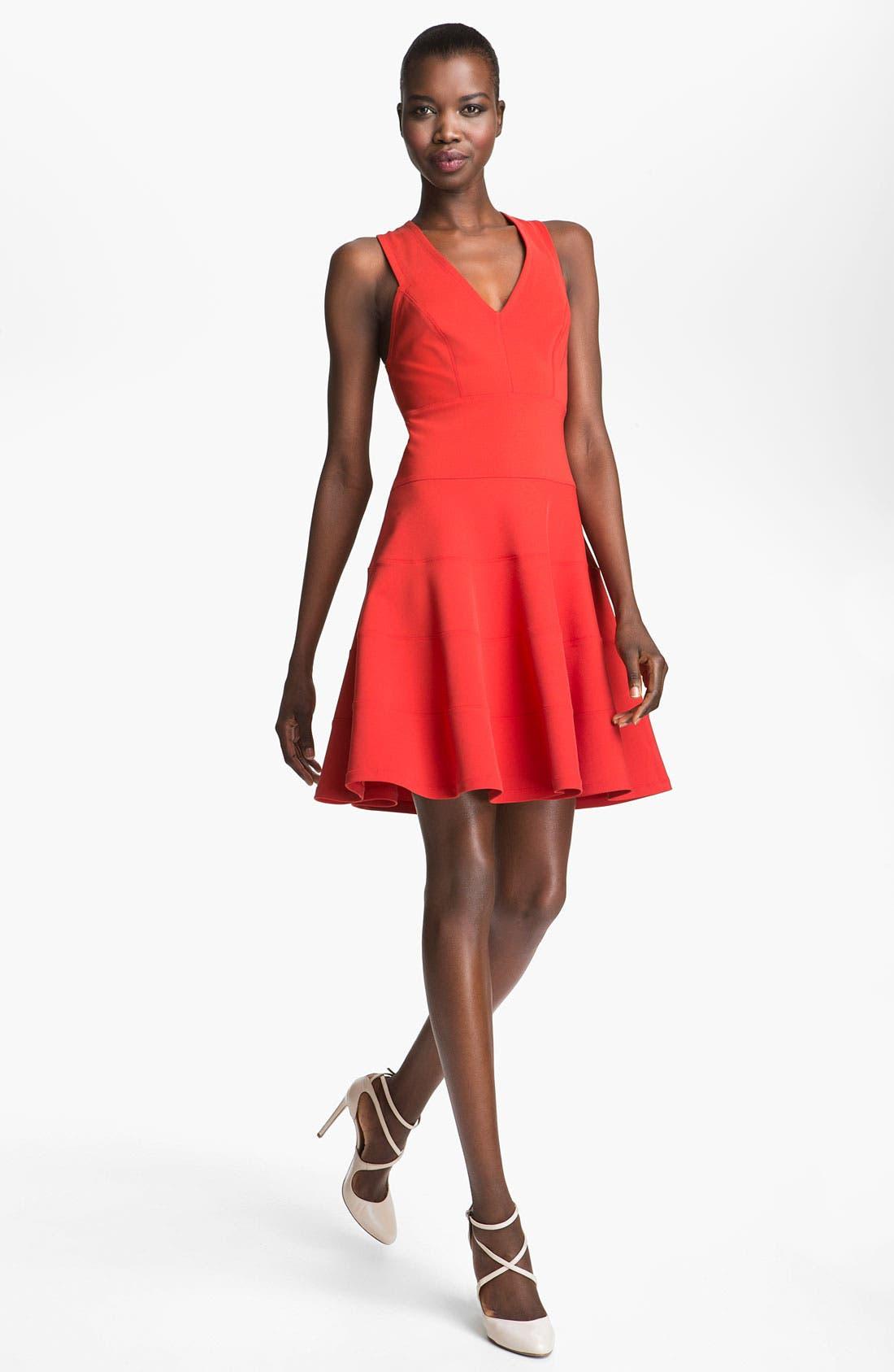 Main Image - Robert Rodriguez Seamed Fit & Flare Dress