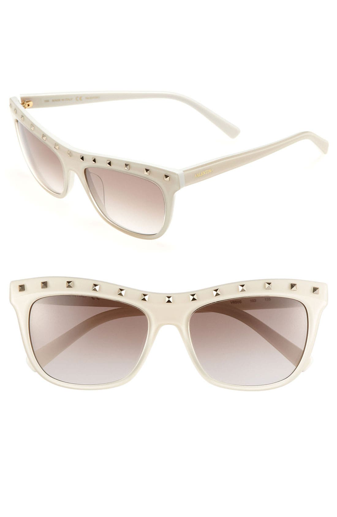 Main Image - Valentino 'Rockstud' 54mm Sunglasses