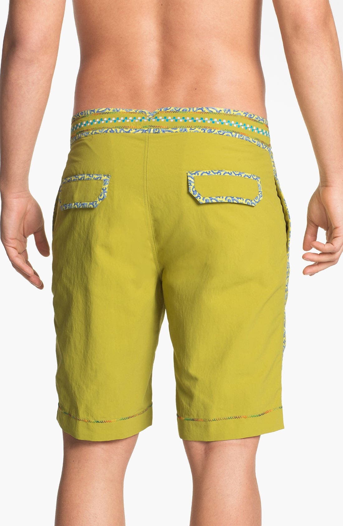Alternate Image 2  - Robert Graham 'Queequeg' Board Shorts