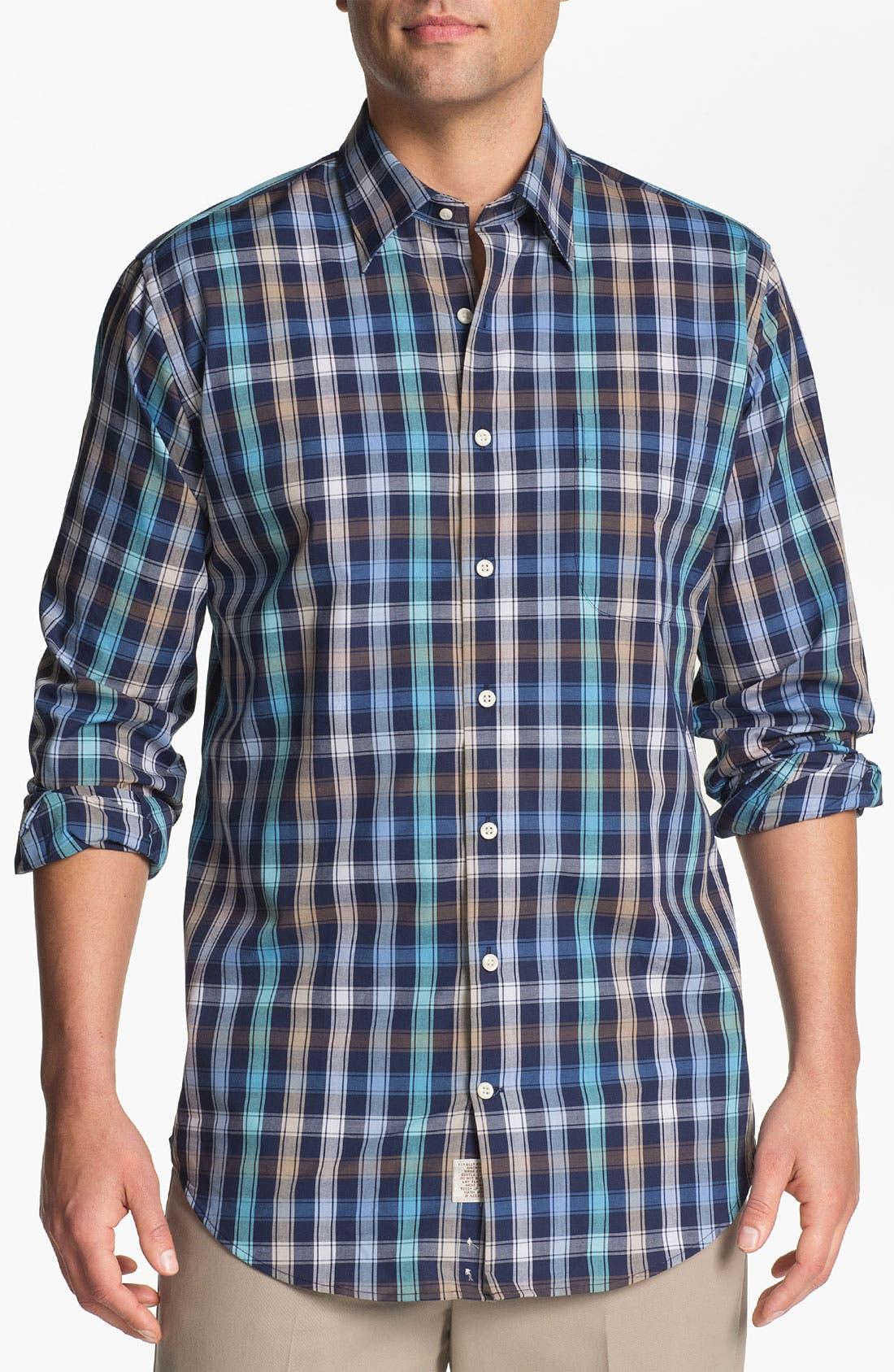Alternate Image 1 Selected - Peter Millar 'Double Track' Regular Fit Sport Shirt