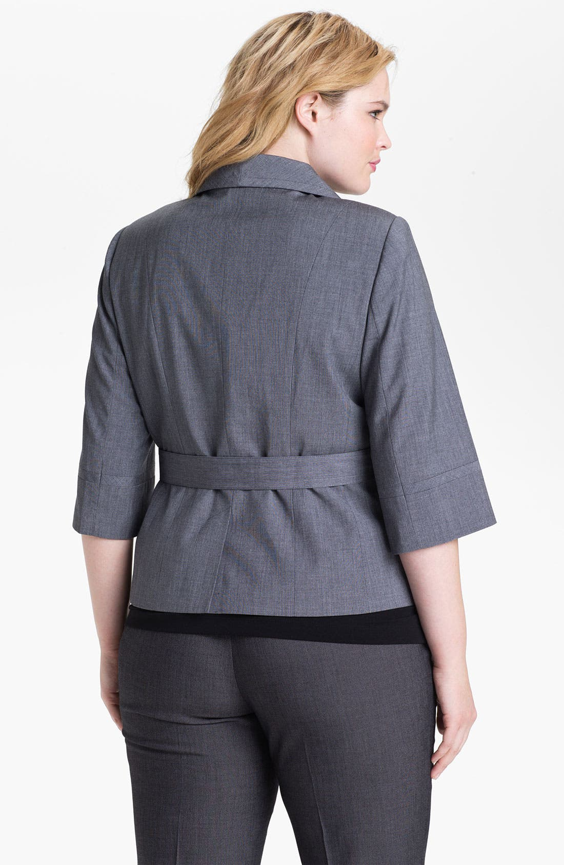 Alternate Image 2  - Sejour 'Laurel' Twill Jacket (Plus Size)