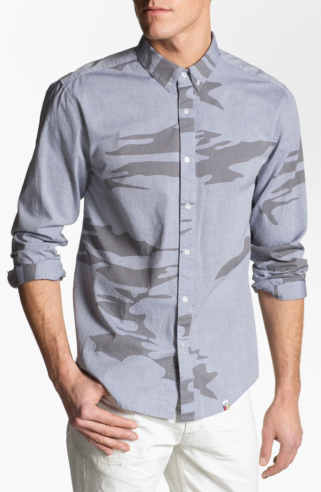 Alternate Image 1 Selected - SLVDR 'Armitage' Trim Fit Sport Shirt