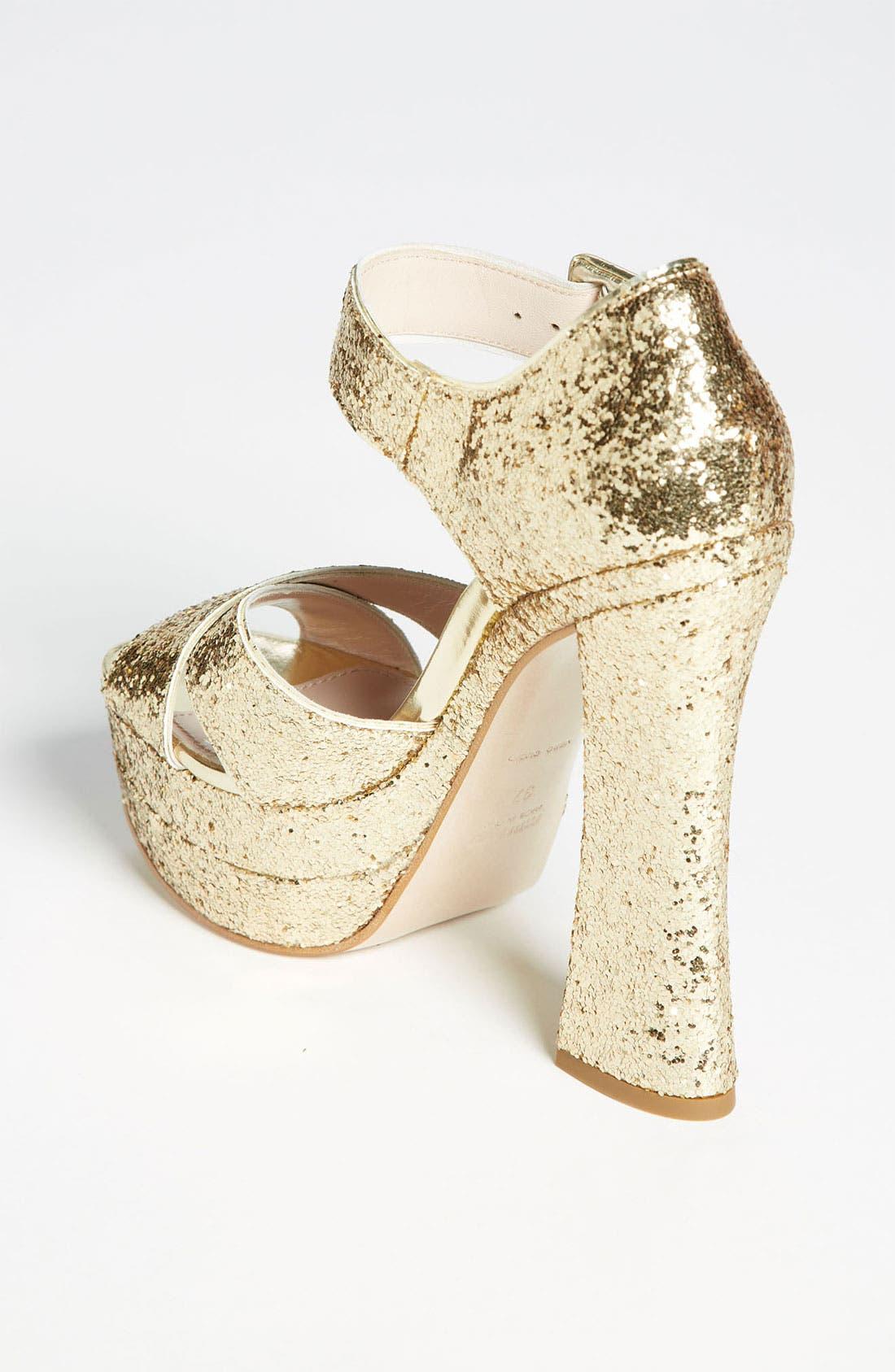 Alternate Image 2  - Miu Miu Peep Toe Platform Sandal