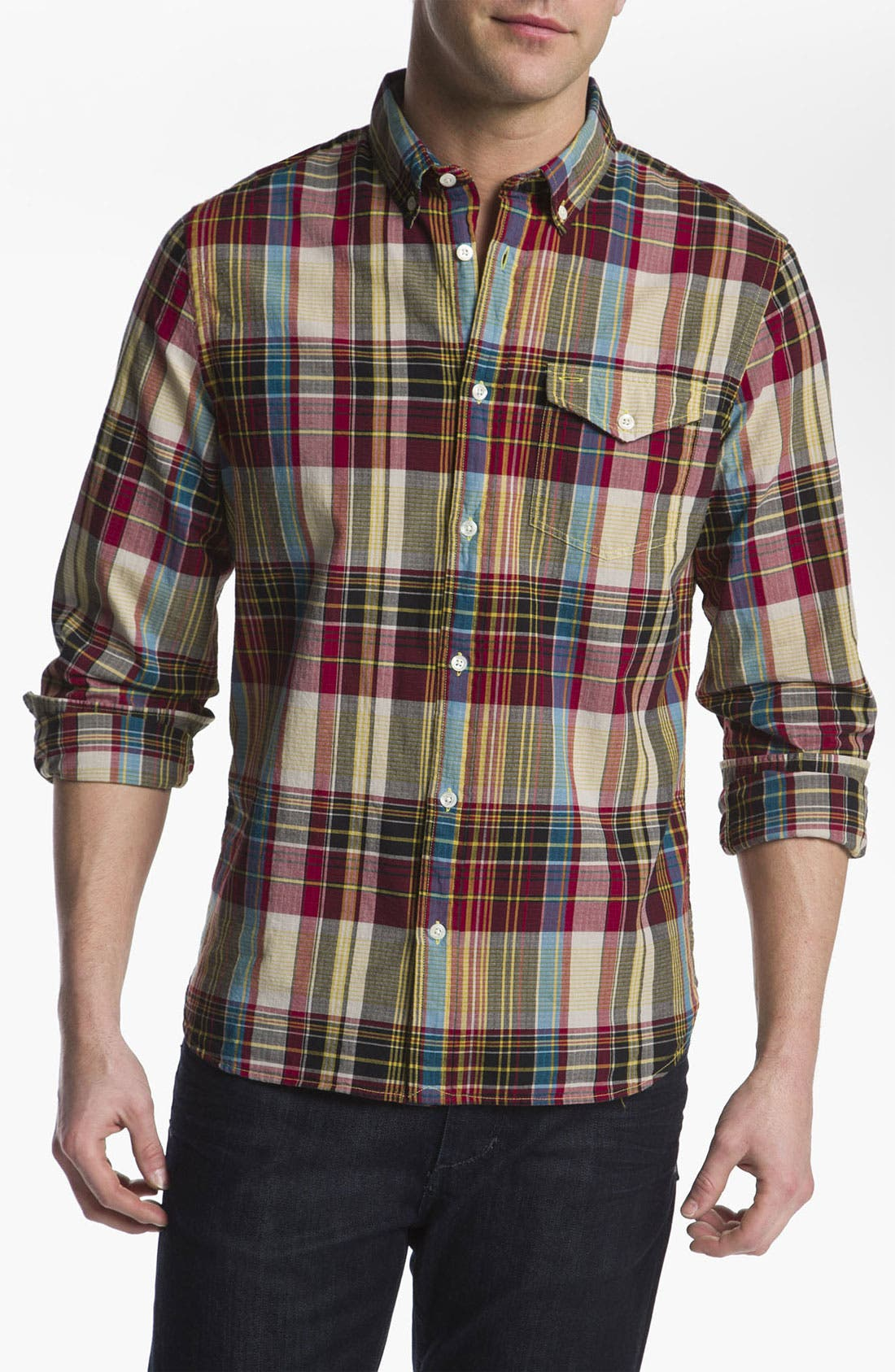 Main Image - Woolrich John Rich 'Richard' Ripstop Woven Shirt