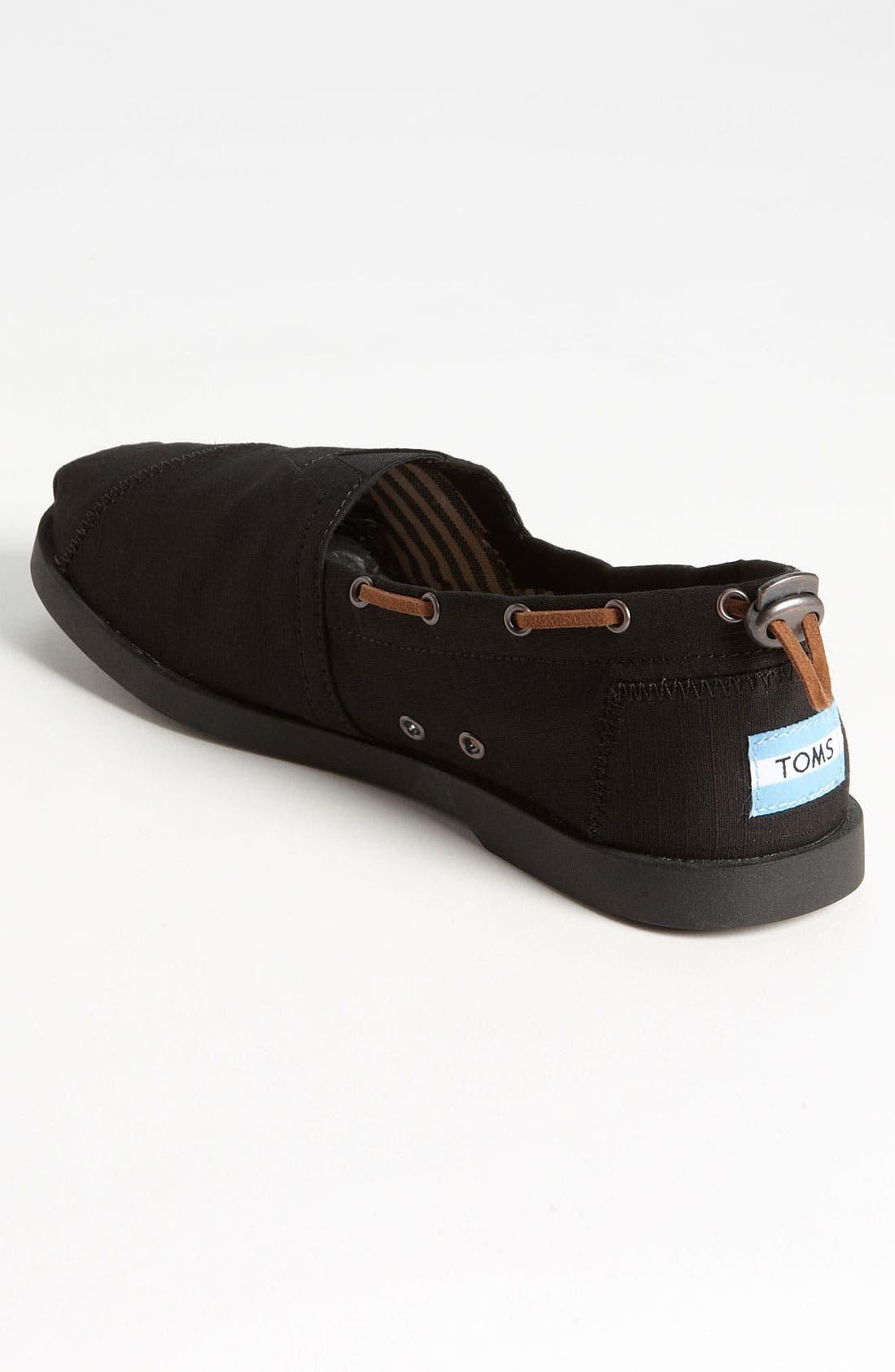 Alternate Image 2  - TOMS 'Bimini - Nautical' Boat Shoe (Men)